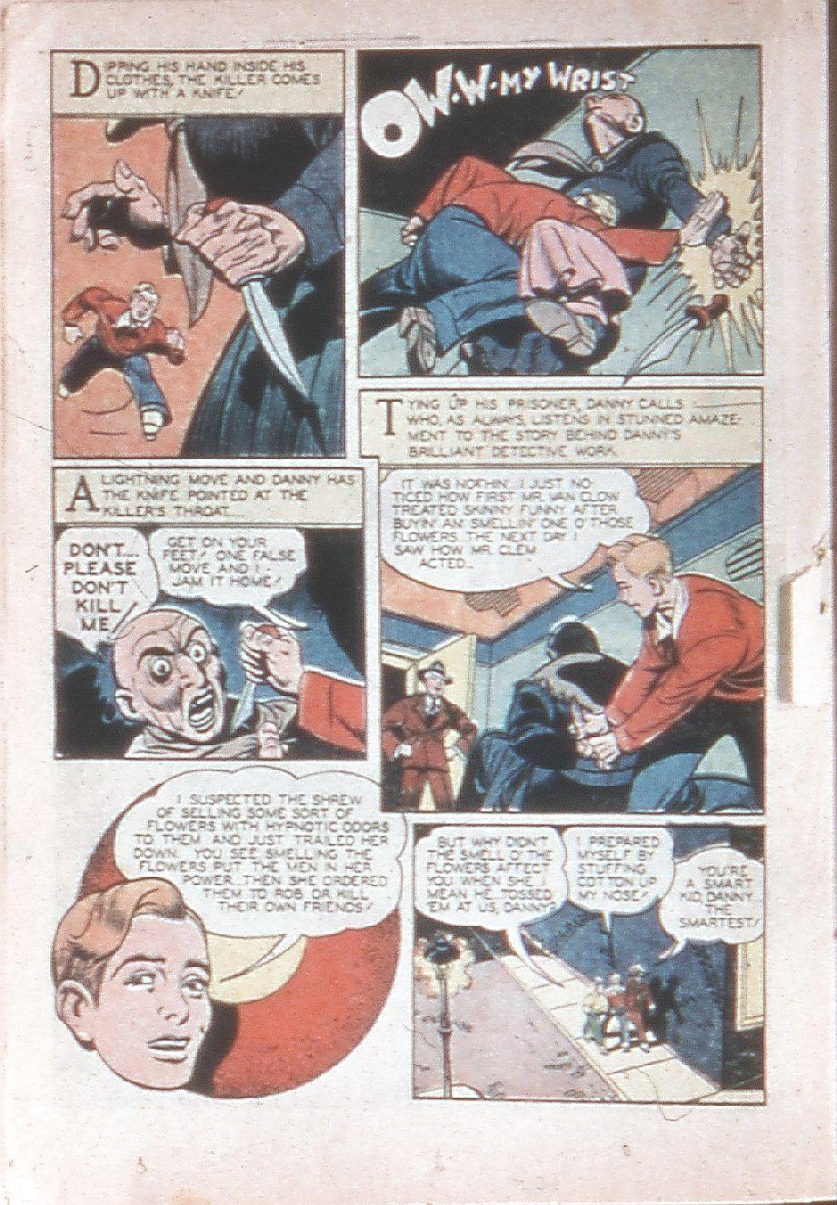 Read online Shadow Comics comic -  Issue #33 - 36