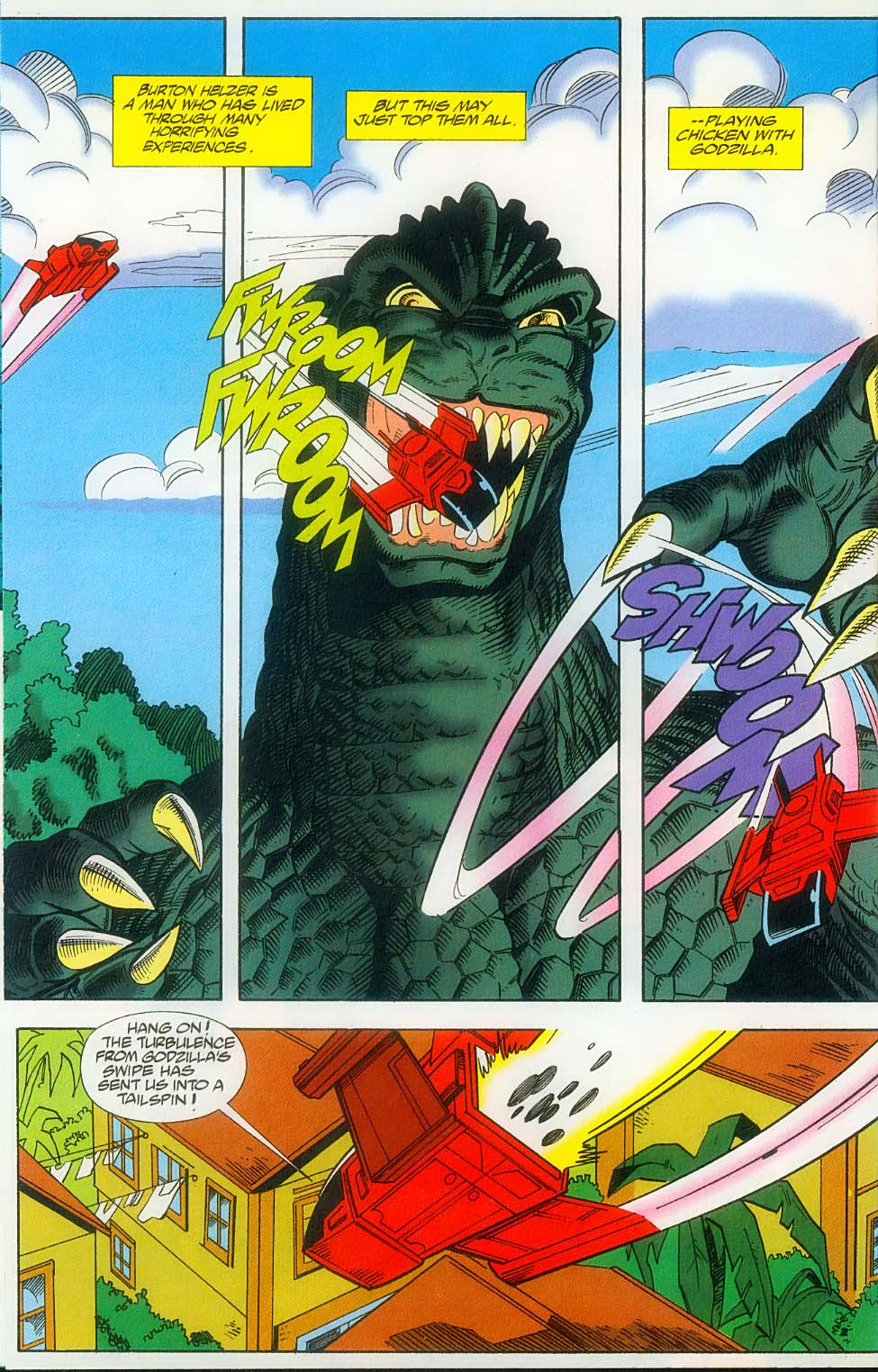 Godzilla (1995) Issue #14 #15 - English 9