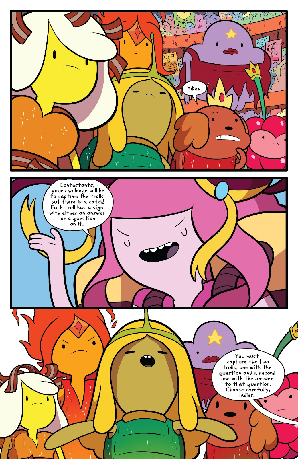 Read online Adventure Time comic -  Issue #63 - 15