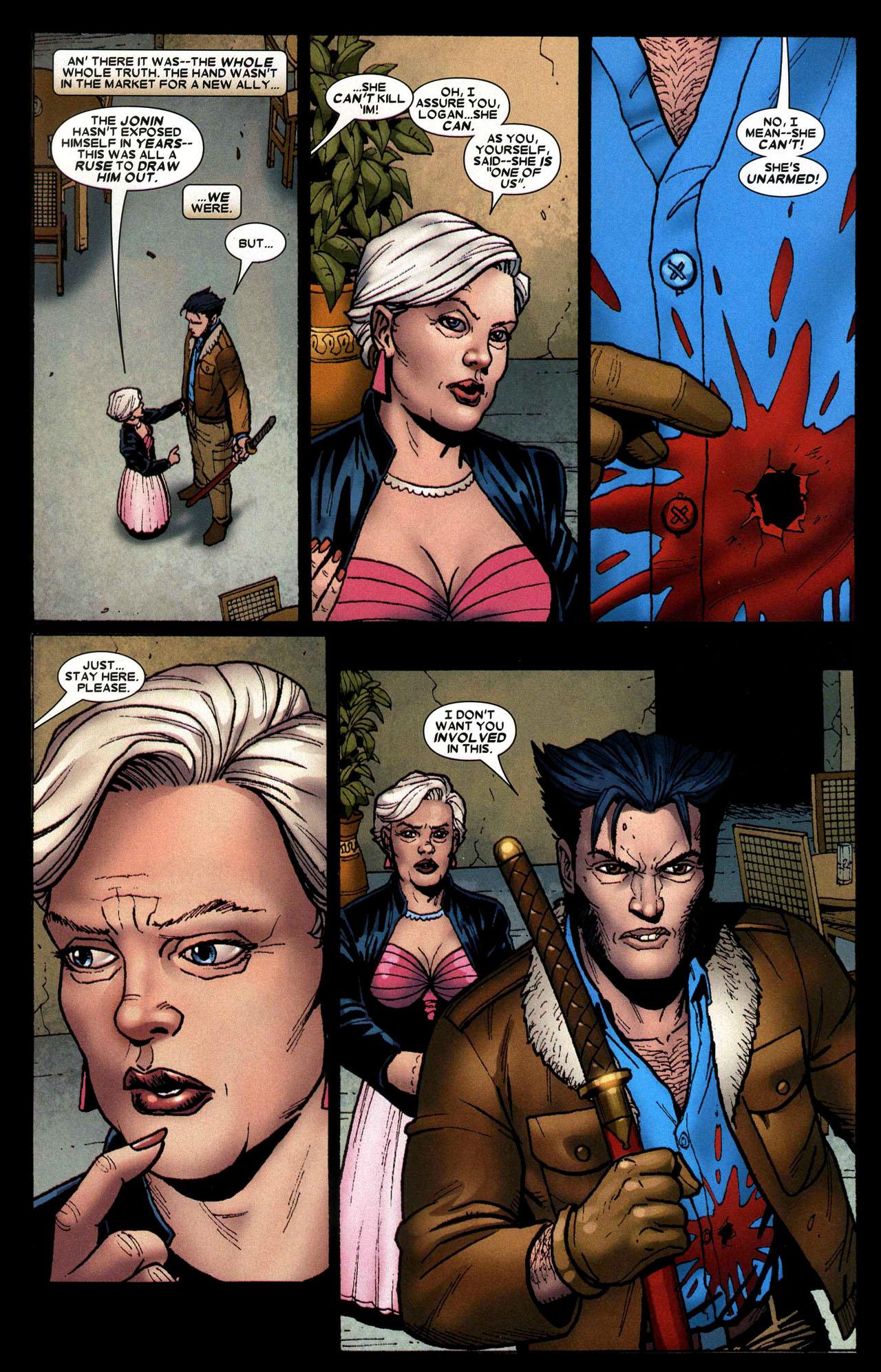 Read online Wolverine: Origins comic -  Issue #16 - 18