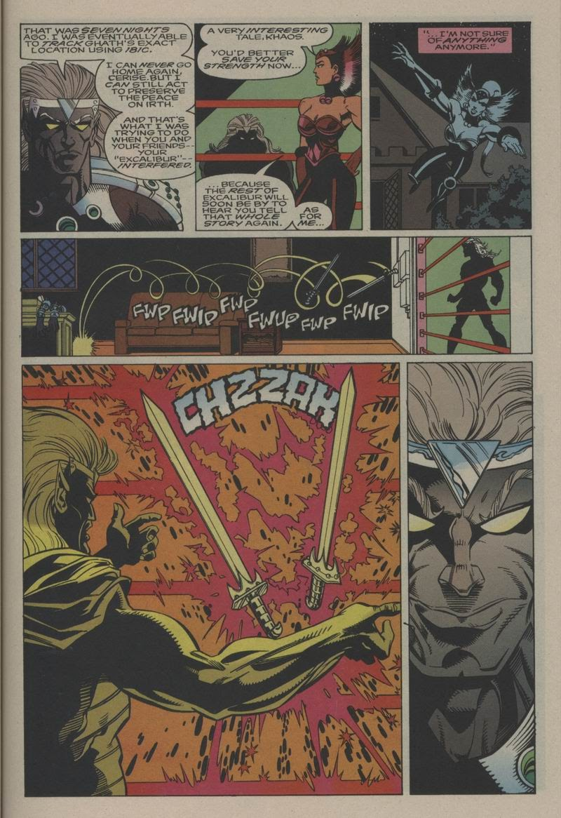 Excalibur (1988) issue Annual 1 - Page 24
