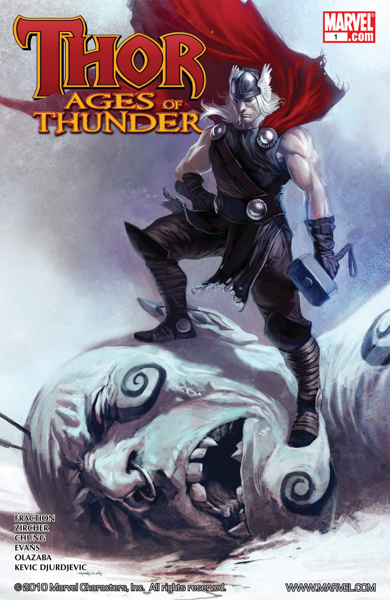Thor: Ages of Thunder Full Page 1