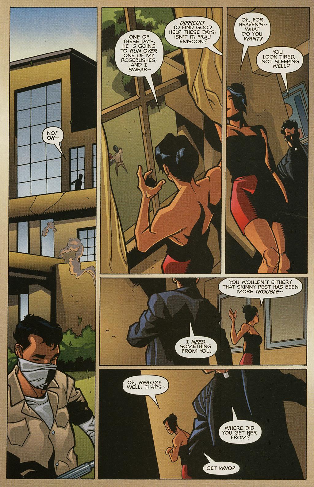 Read online Nightcrawler (2002) comic -  Issue #4 - 12
