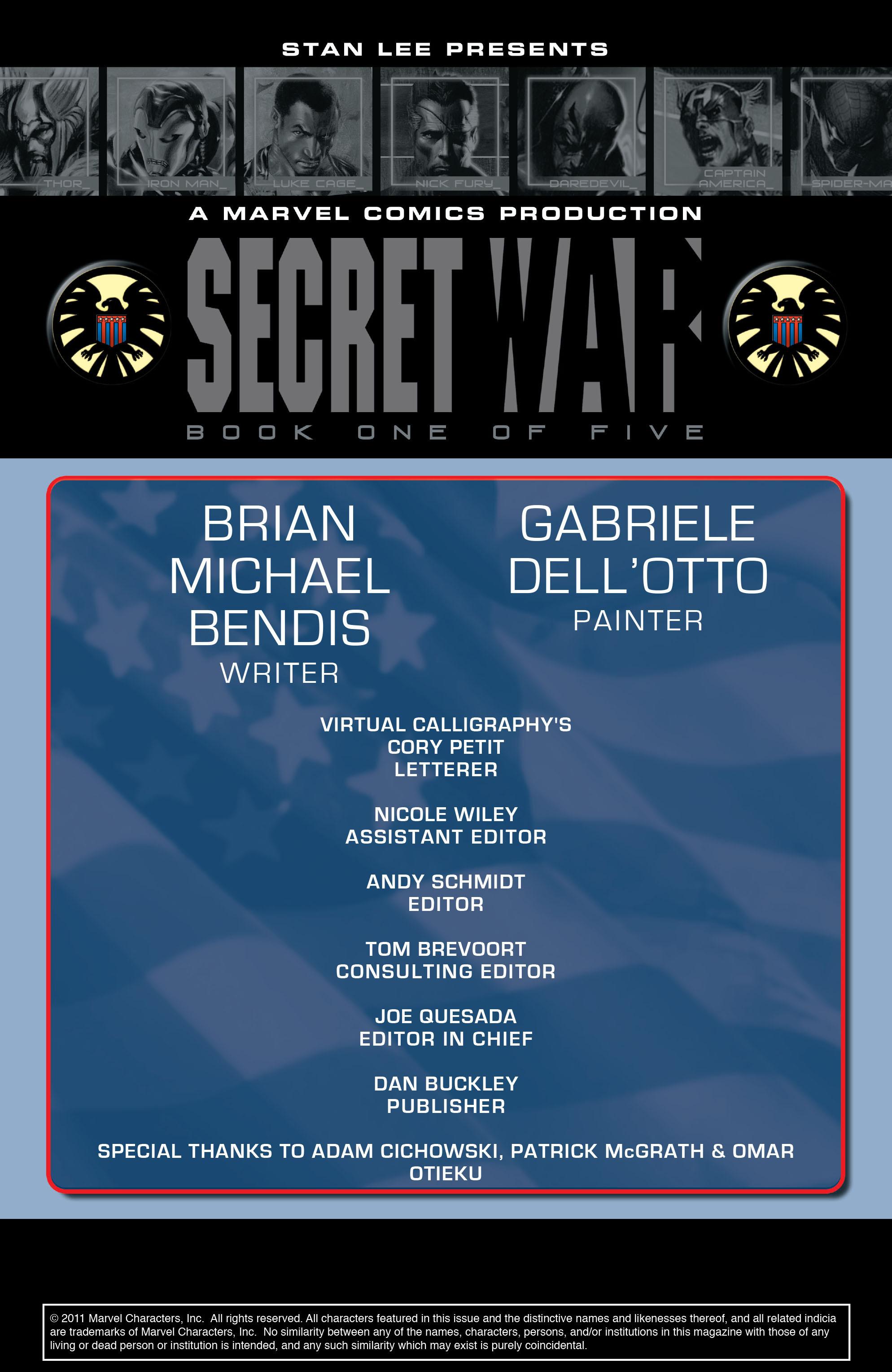 Read online Secret War comic -  Issue # Full - 4