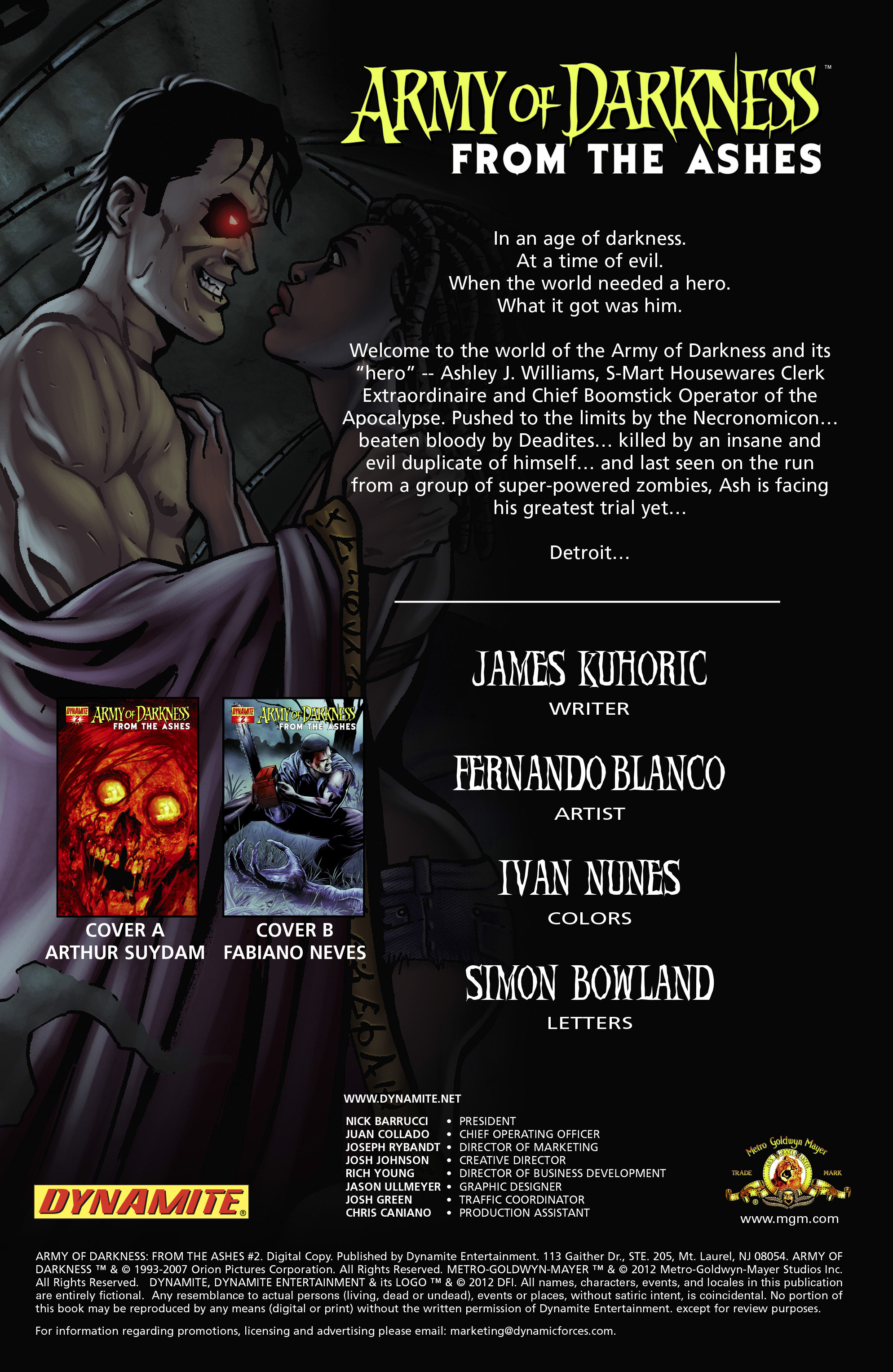 Read online Army of Darkness: From the Ashes comic -  Issue #Army of Darkness: From the Ashes TPB - 30