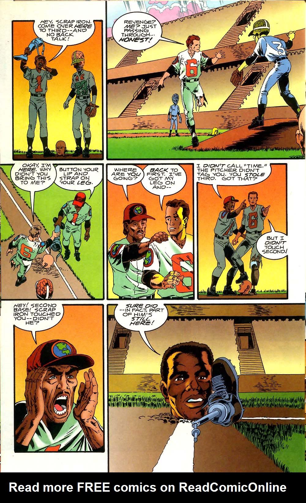 Read online Mars Attacks Baseball Special comic -  Issue # Full - 18