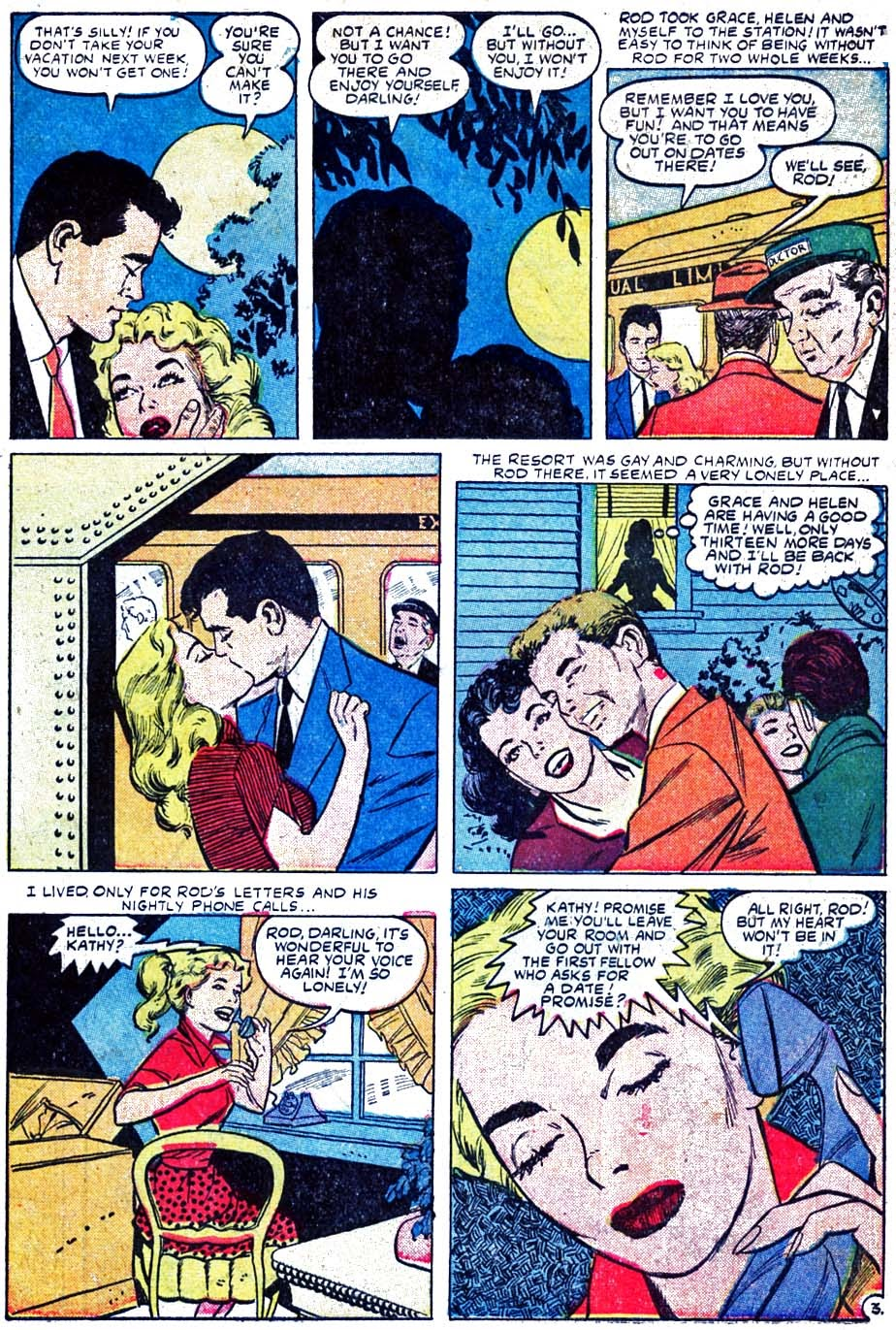 Love Romances (1949) issue 52 - Page 5