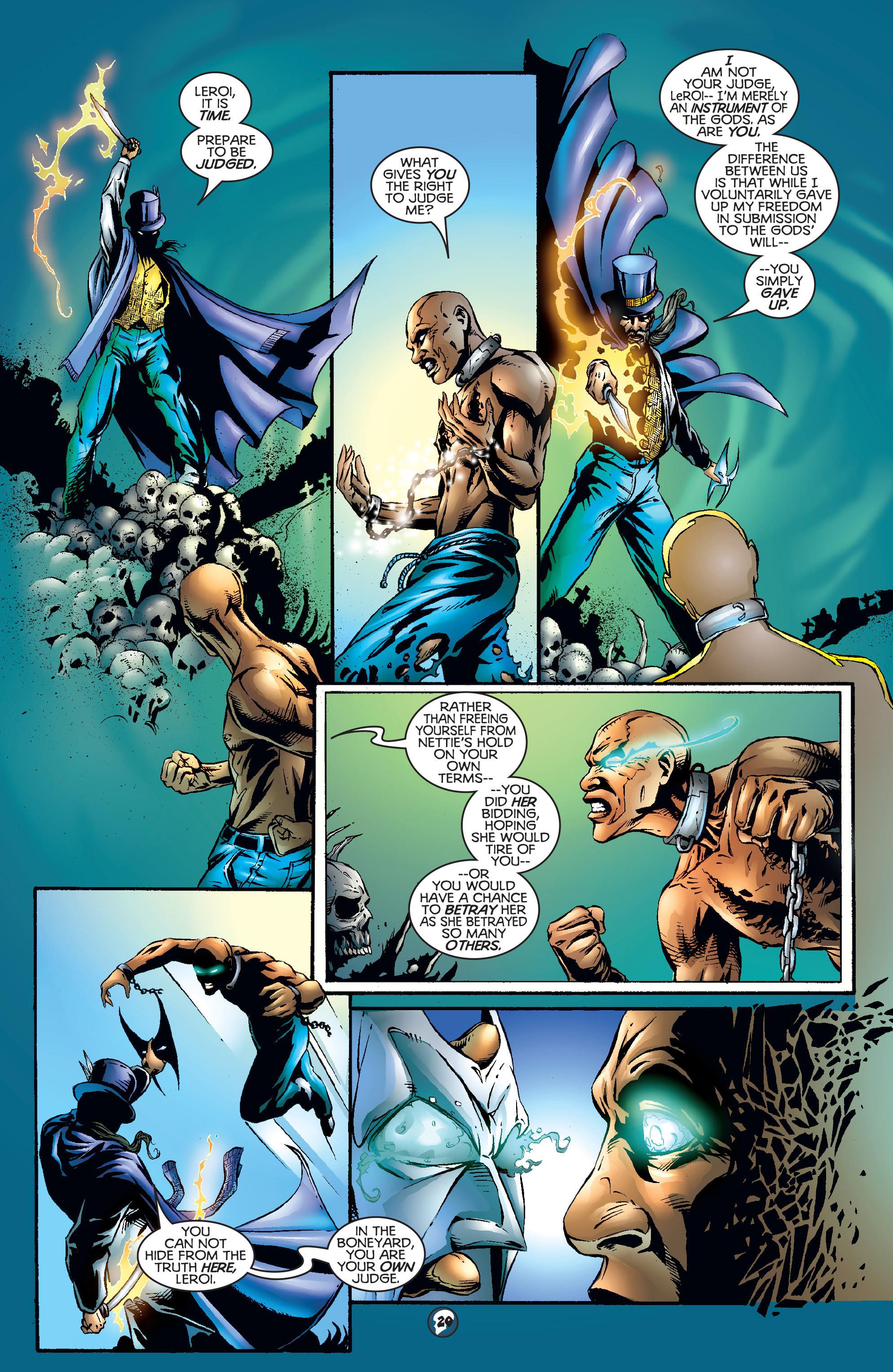 Read online Shadowman (1997) comic -  Issue #17 - 16