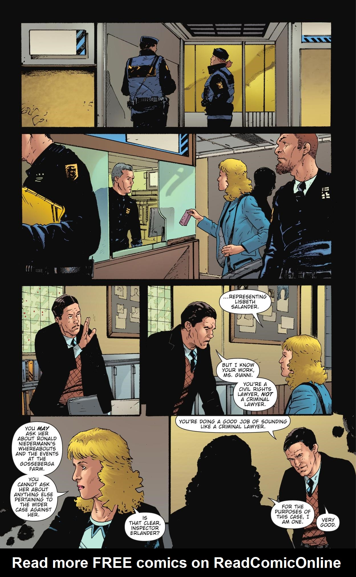 Read online The Girl Who Kicked The Hornet's Nest comic -  Issue # TPB - 75