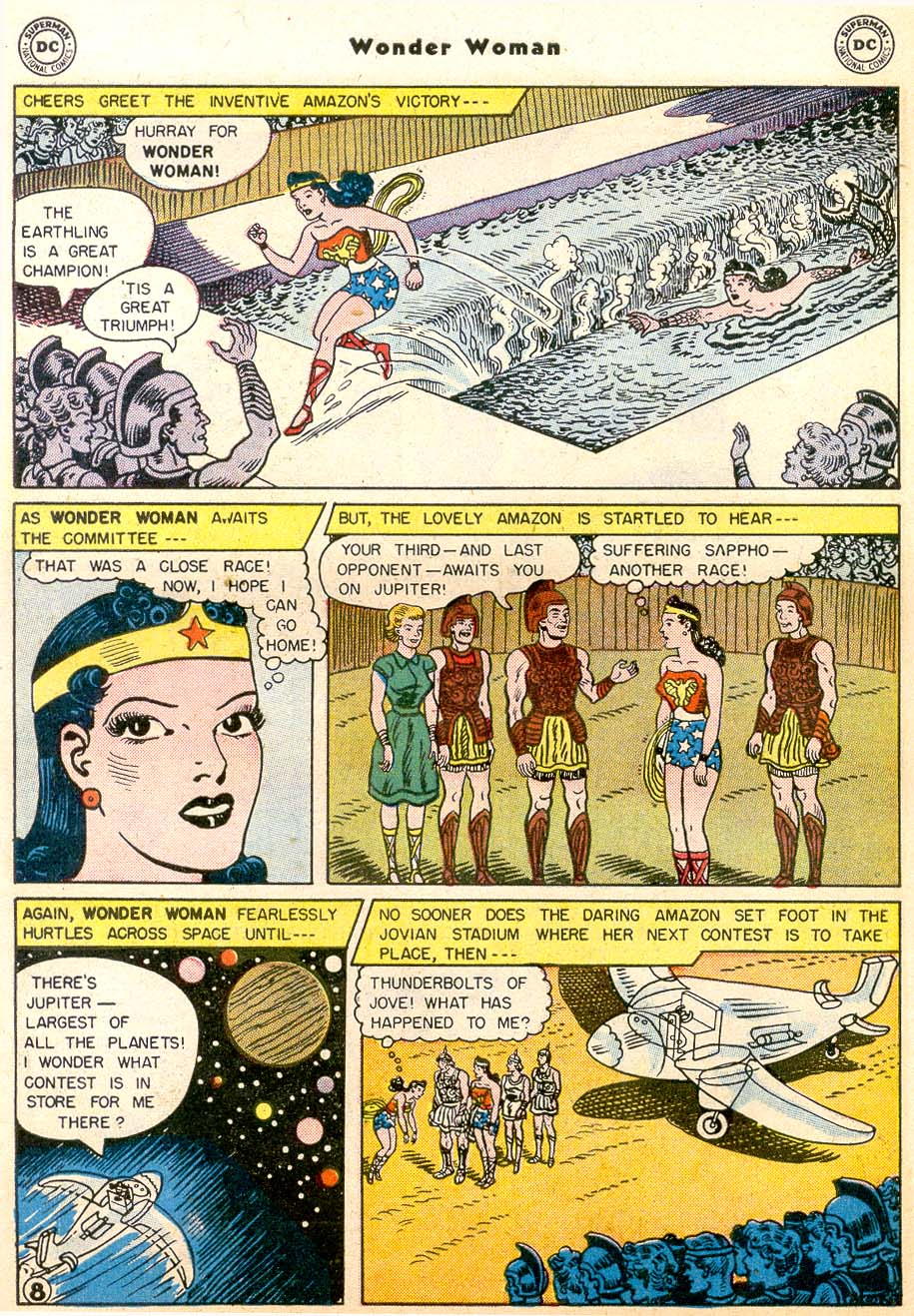 Read online Wonder Woman (1942) comic -  Issue #91 - 10