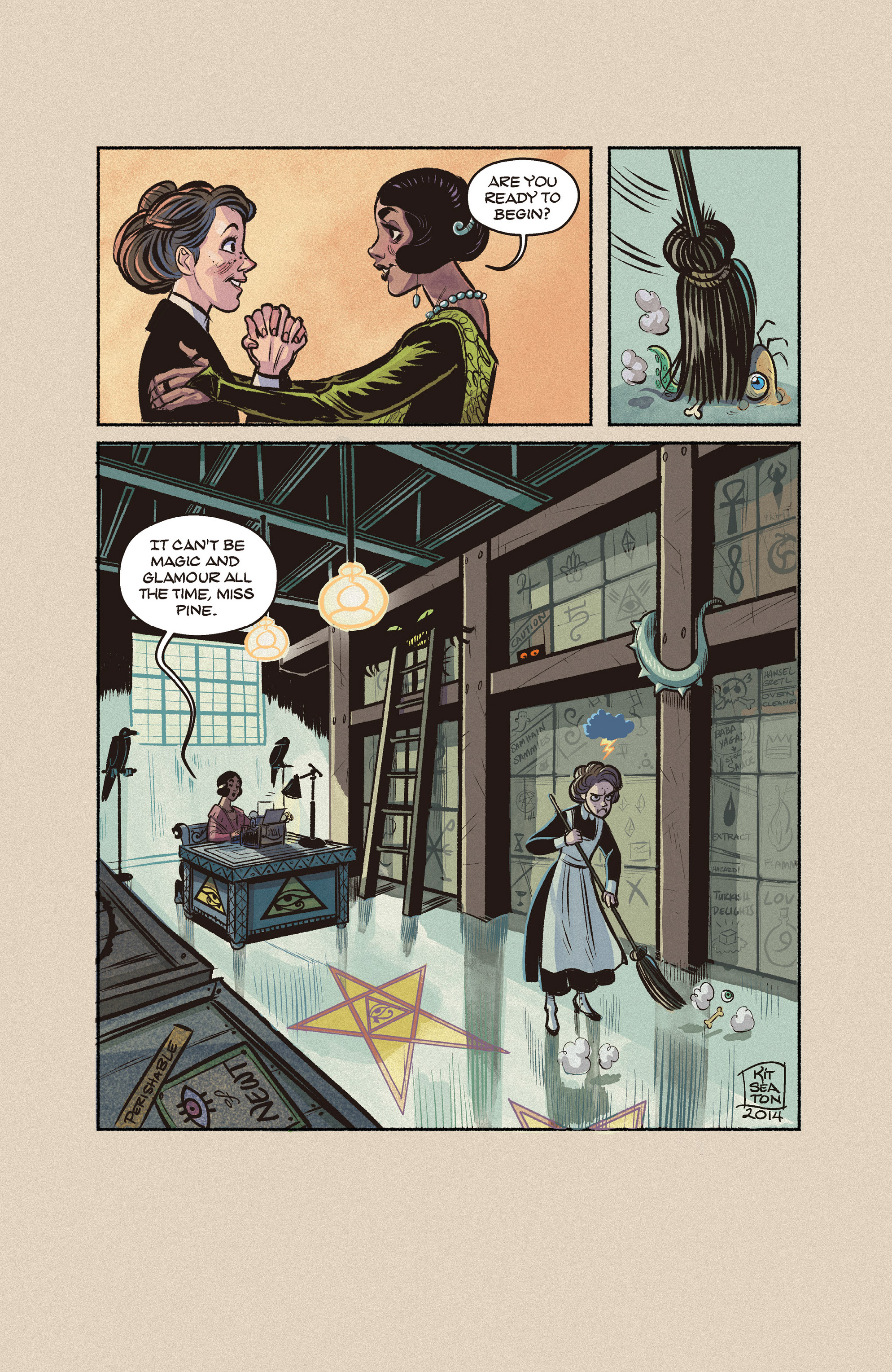 Read online Shutter comic -  Issue #9 - 30