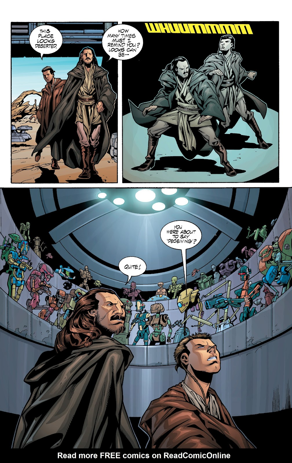 Read online Star Wars Legends: Rise of the Sith - Epic Collection comic -  Issue # TPB 1 (Part 3) - 93
