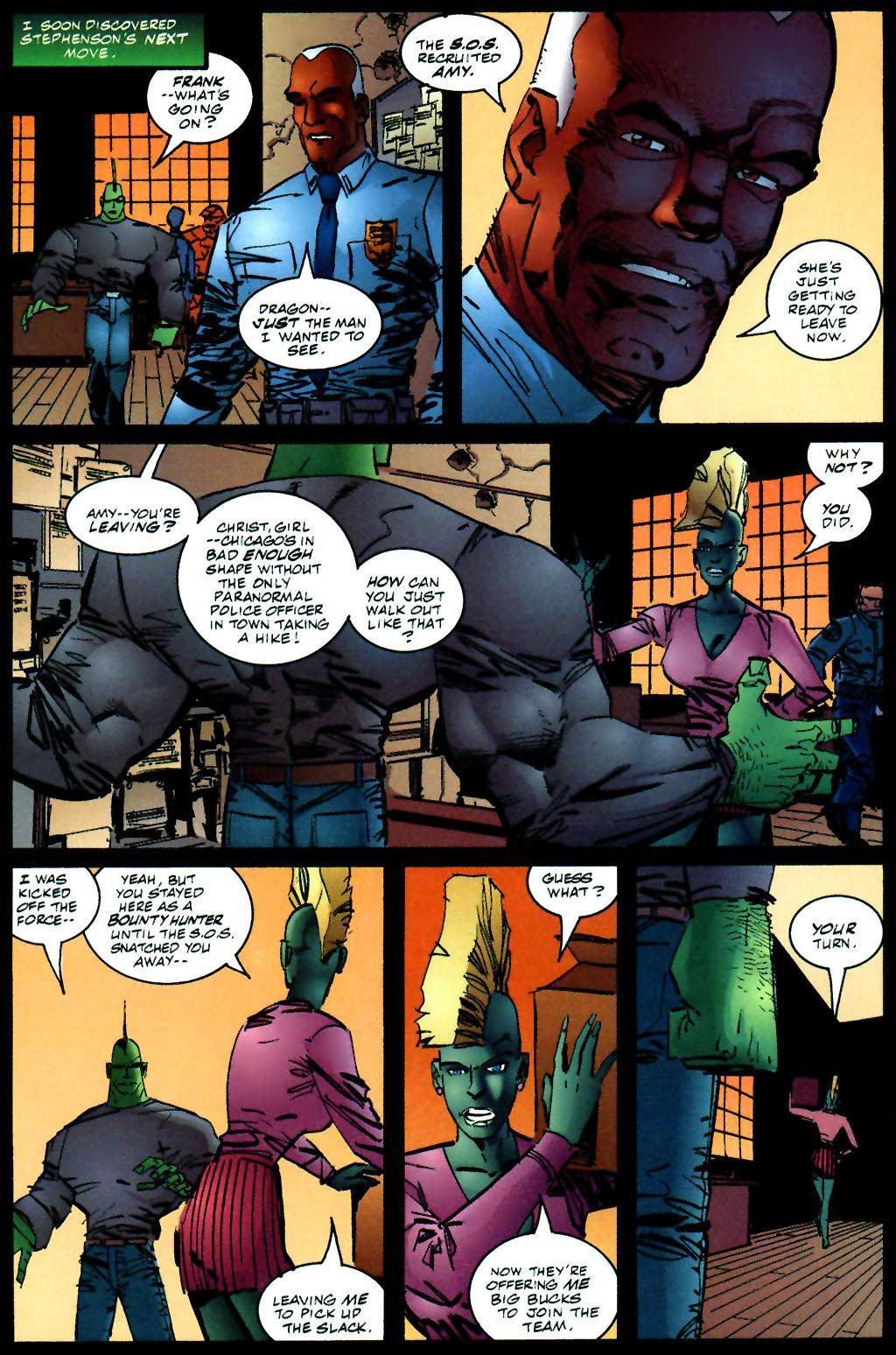 The Savage Dragon (1993) Issue #59 #62 - English 16