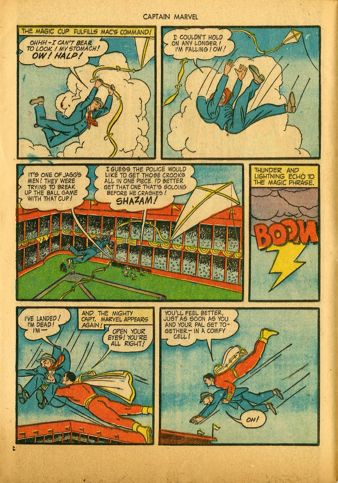 Captain Marvel Adventures issue 36 - Page 12