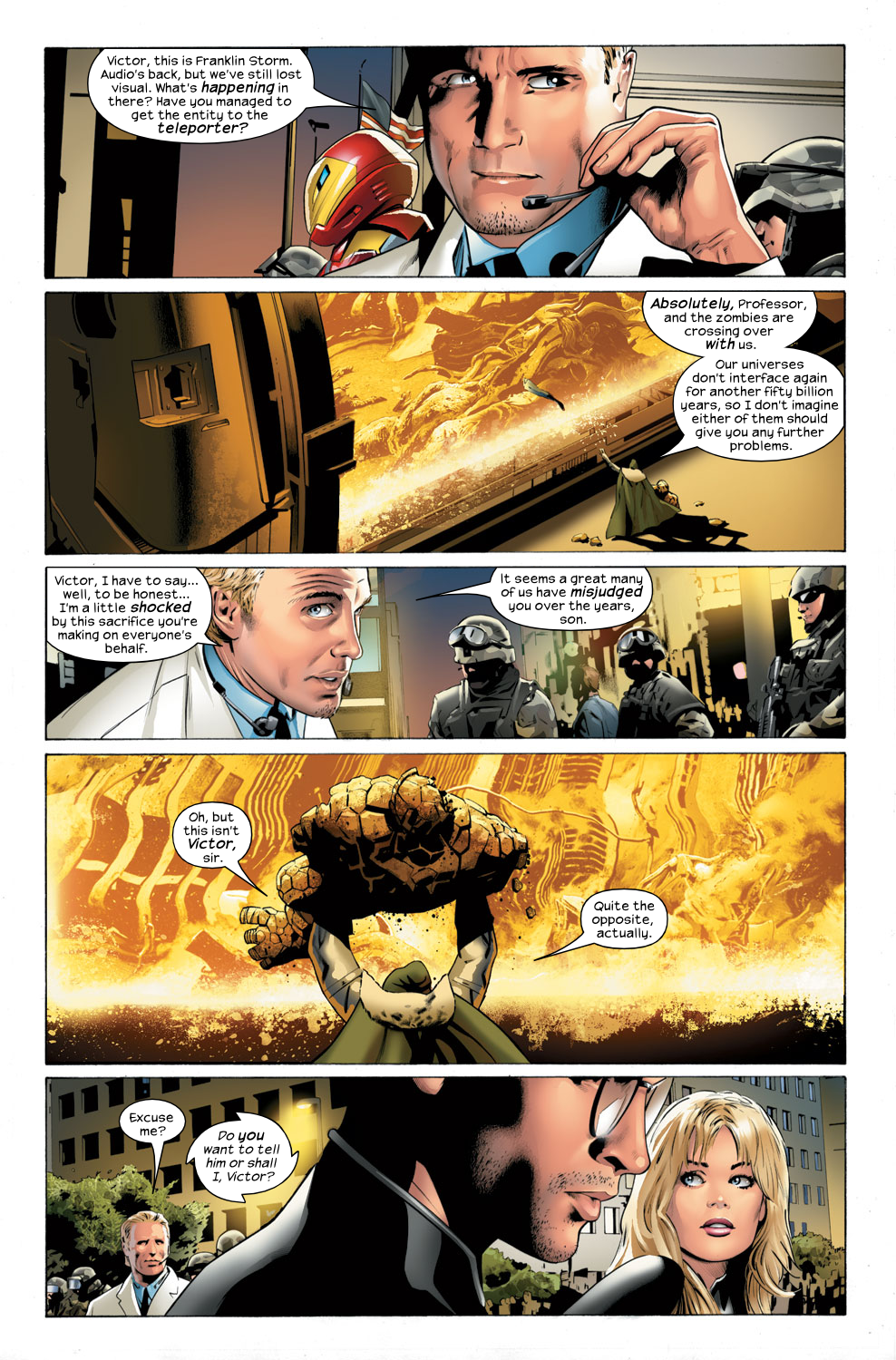 Read online Ultimate Fantastic Four (2004) comic -  Issue #32 - 18
