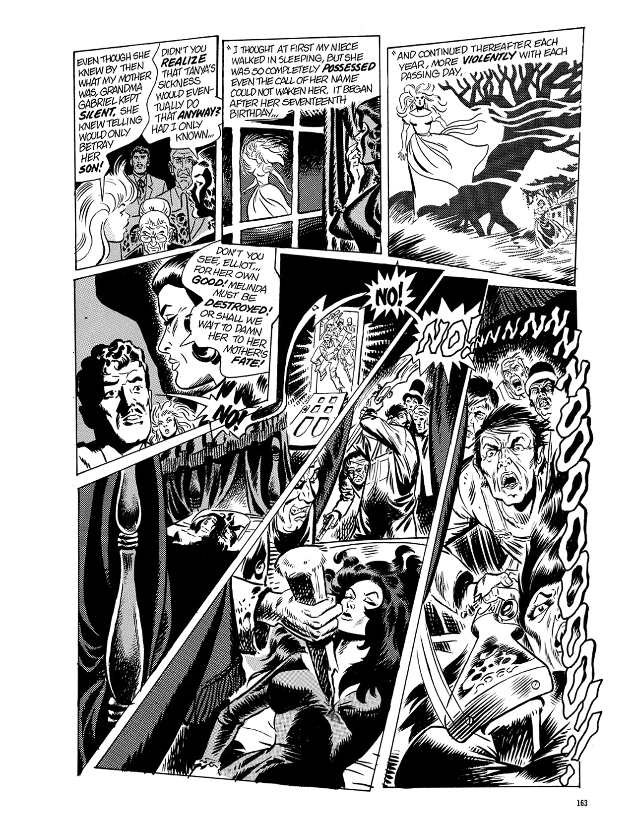 Read online Eerie Archives comic -  Issue # TPB 5 - 164
