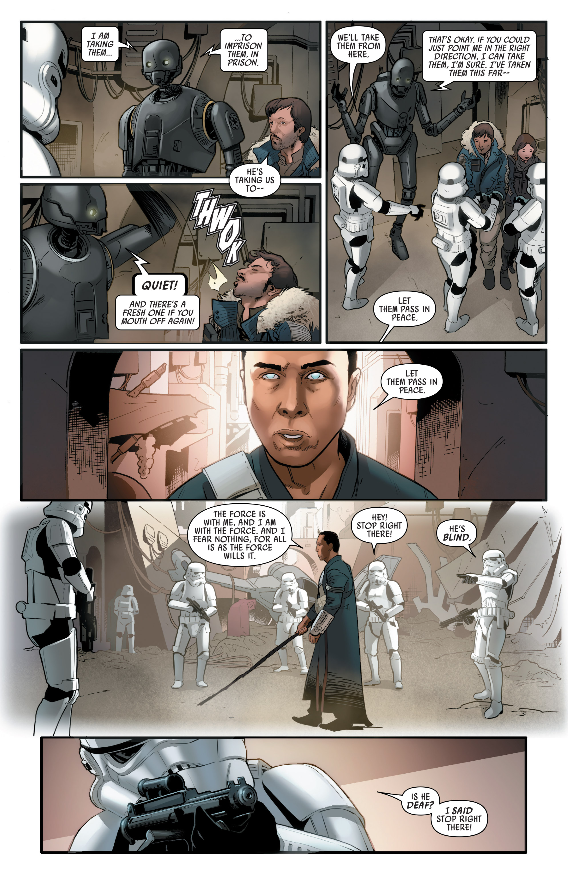 Read online Star Wars: Rogue One Adaptation comic -  Issue #2 - 12