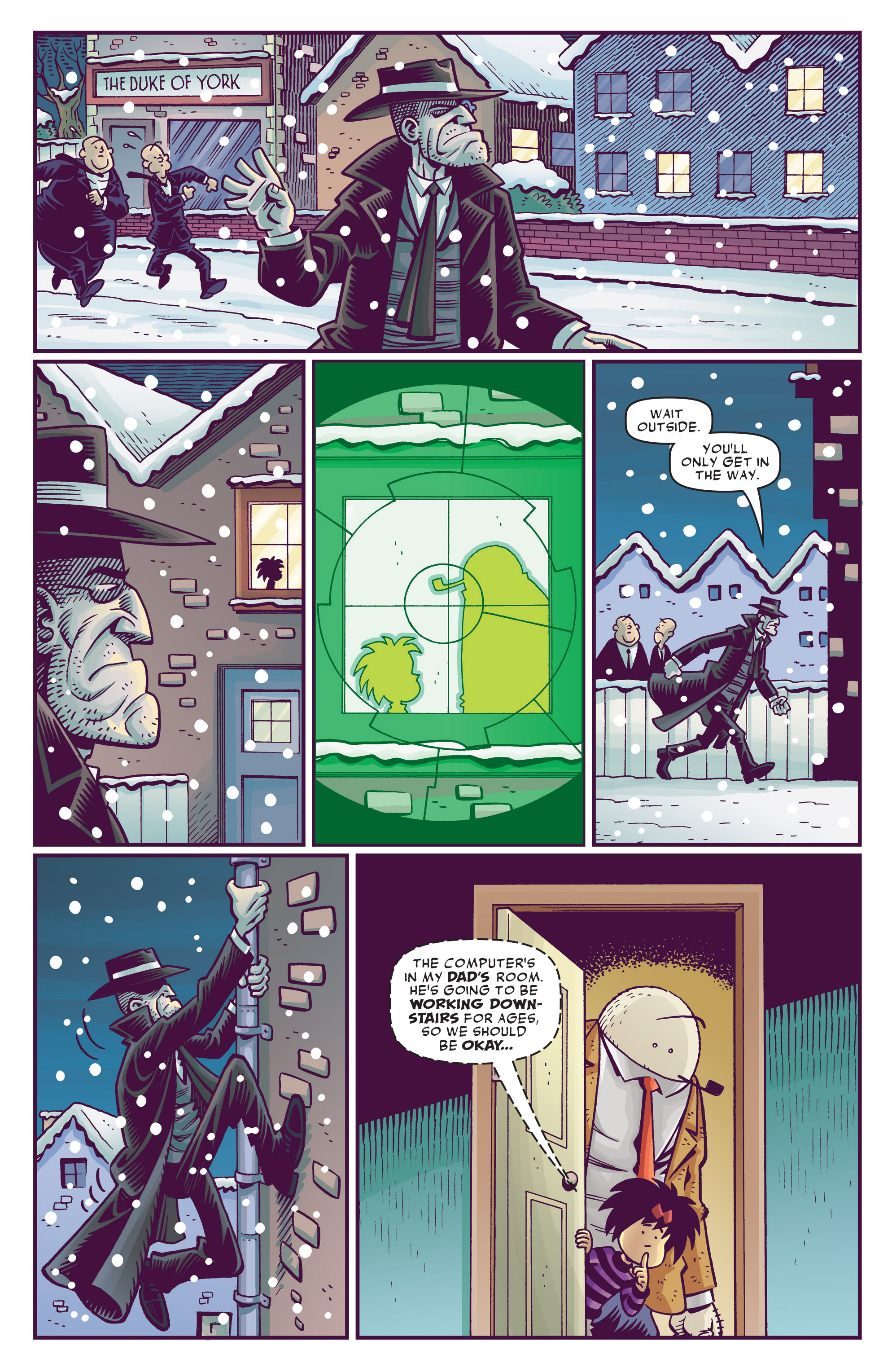 Read online Abigail And The Snowman comic -  Issue #3 - 14