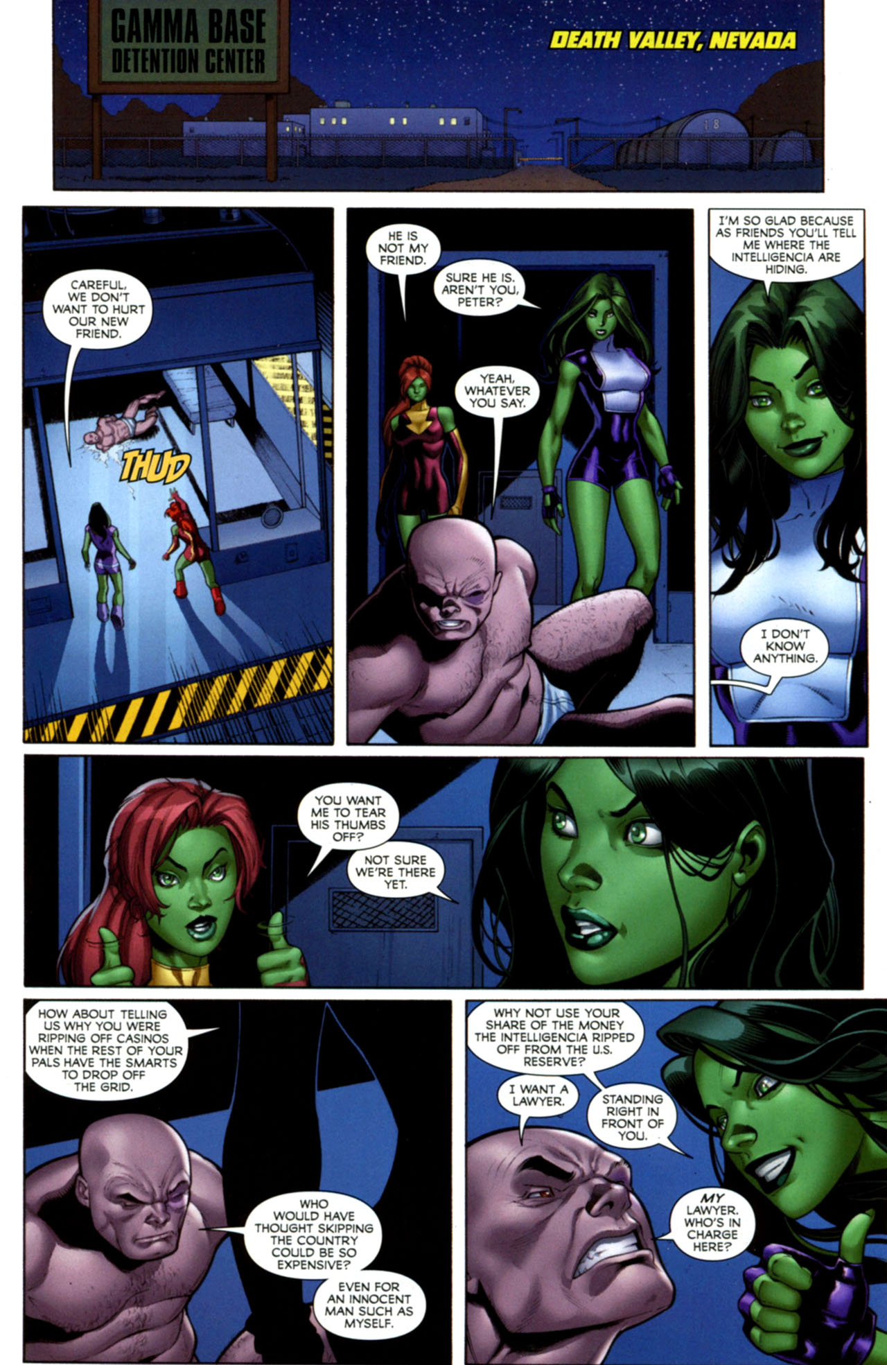 Read online She-Hulks comic -  Issue #1 - 8