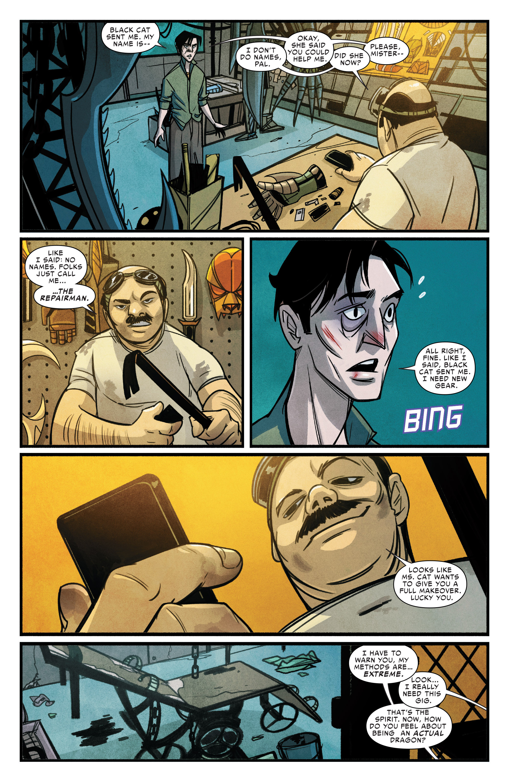 Read online Silk (2015) comic -  Issue #1 - 19