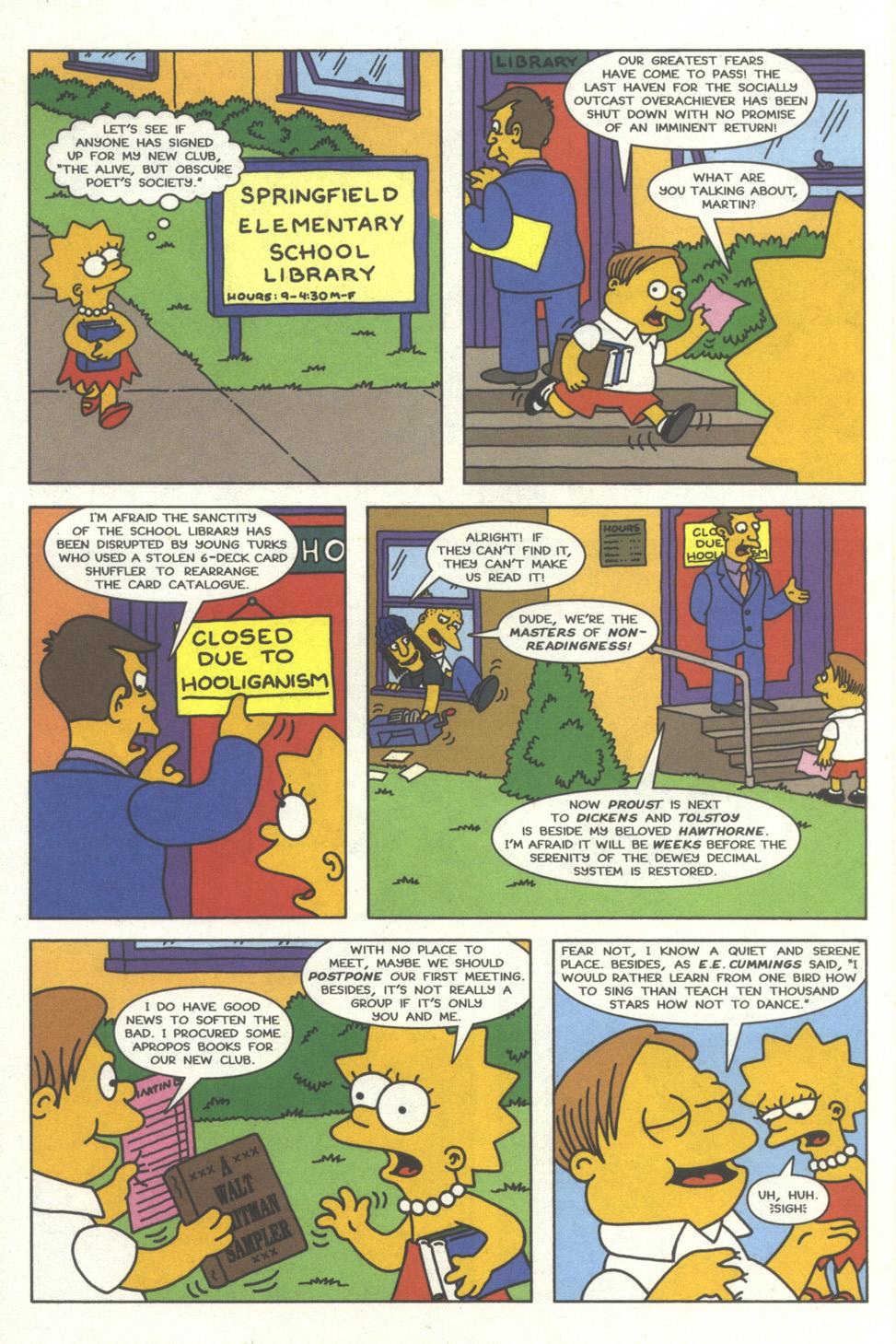 Read online Simpsons Comics comic -  Issue #32 - 7