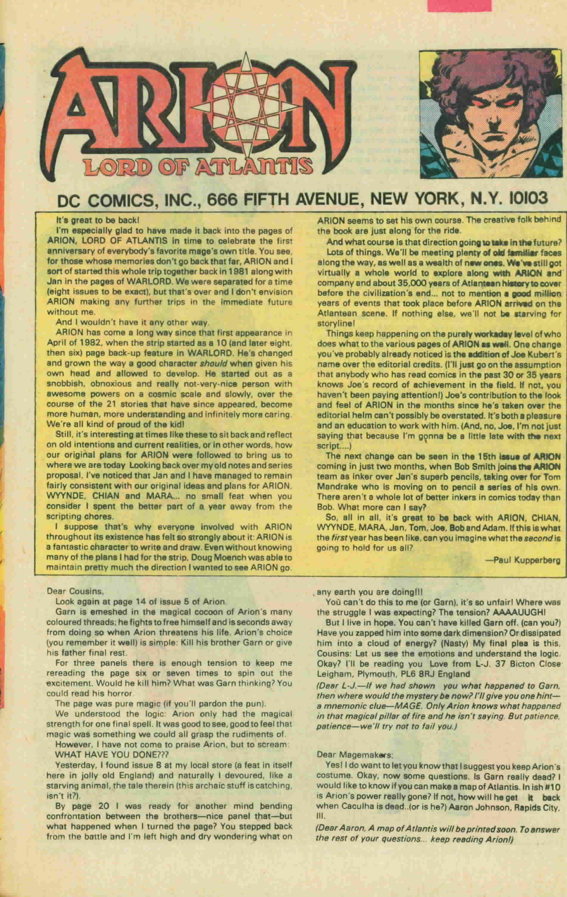 Read online Arion, Lord of Atlantis comic -  Issue #13 - 34