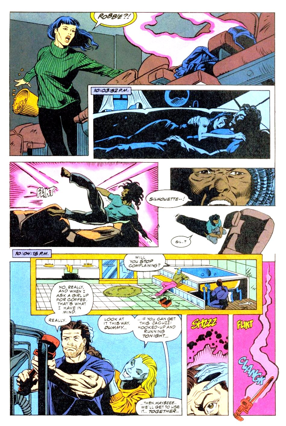 The New Warriors Issue #47 #51 - English 22
