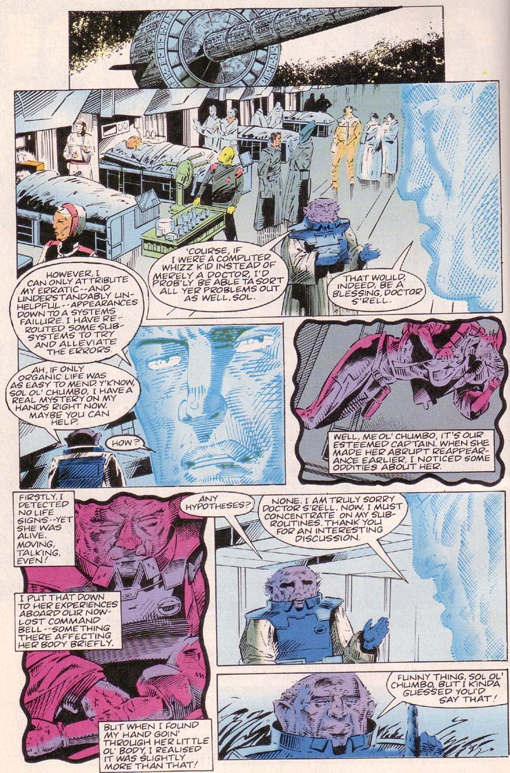 Read online Cyberspace 3000 comic -  Issue #2 - 6