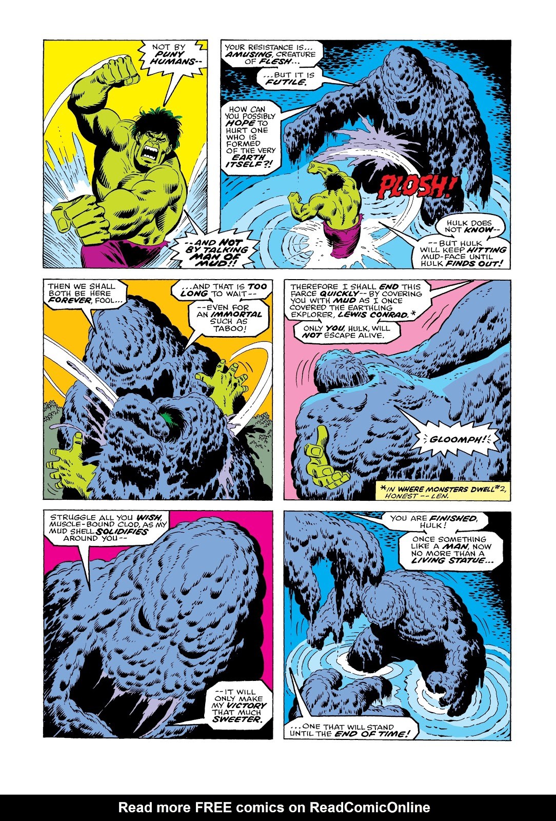 Read online Marvel Masterworks: The Incredible Hulk comic -  Issue # TPB 12 (Part 1) - 58