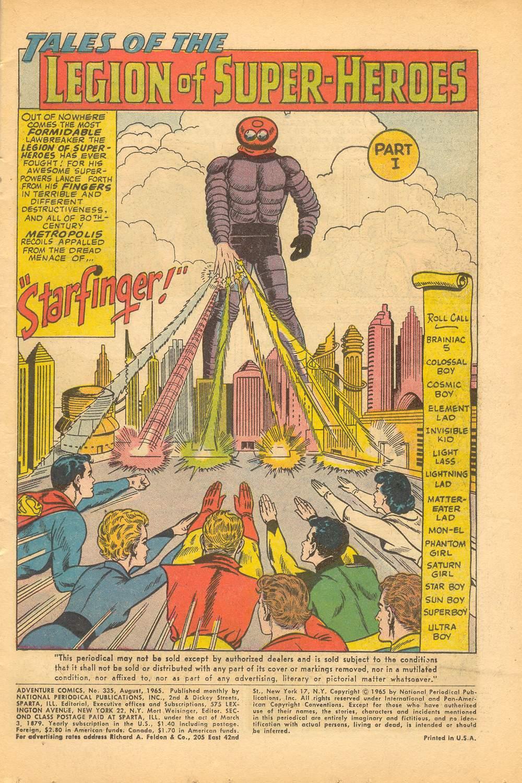 Read online Adventure Comics (1938) comic -  Issue #335 - 3