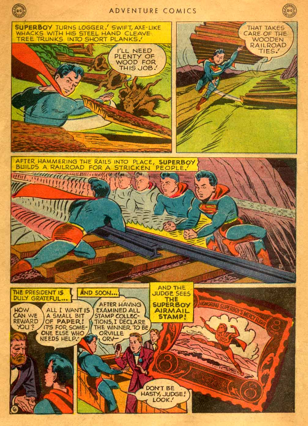 Read online Adventure Comics (1938) comic -  Issue #121 - 8