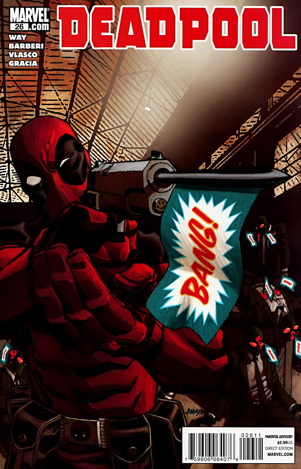 Read online Deadpool (2008) comic -  Issue #26 - 1