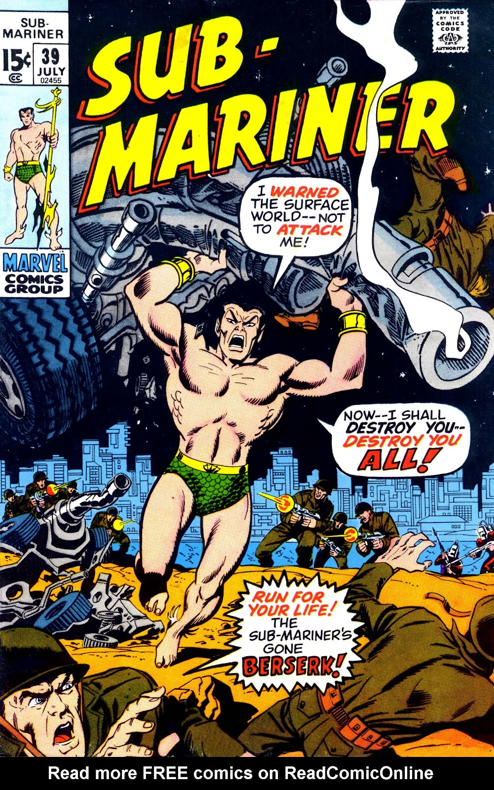 The Sub-Mariner 39 Page 1