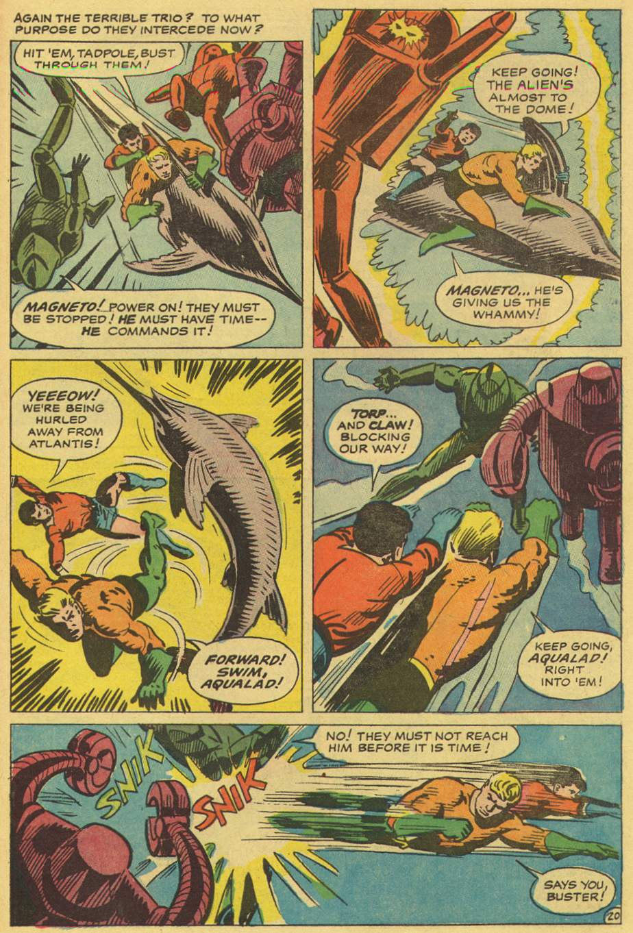 Read online Aquaman (1962) comic -  Issue #36 - 30