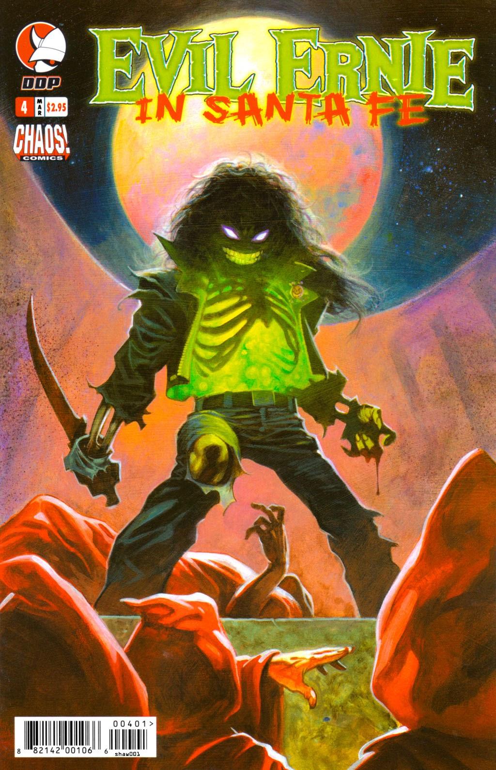 Read online Evil Ernie in Santa Fe comic -  Issue #4 - 1