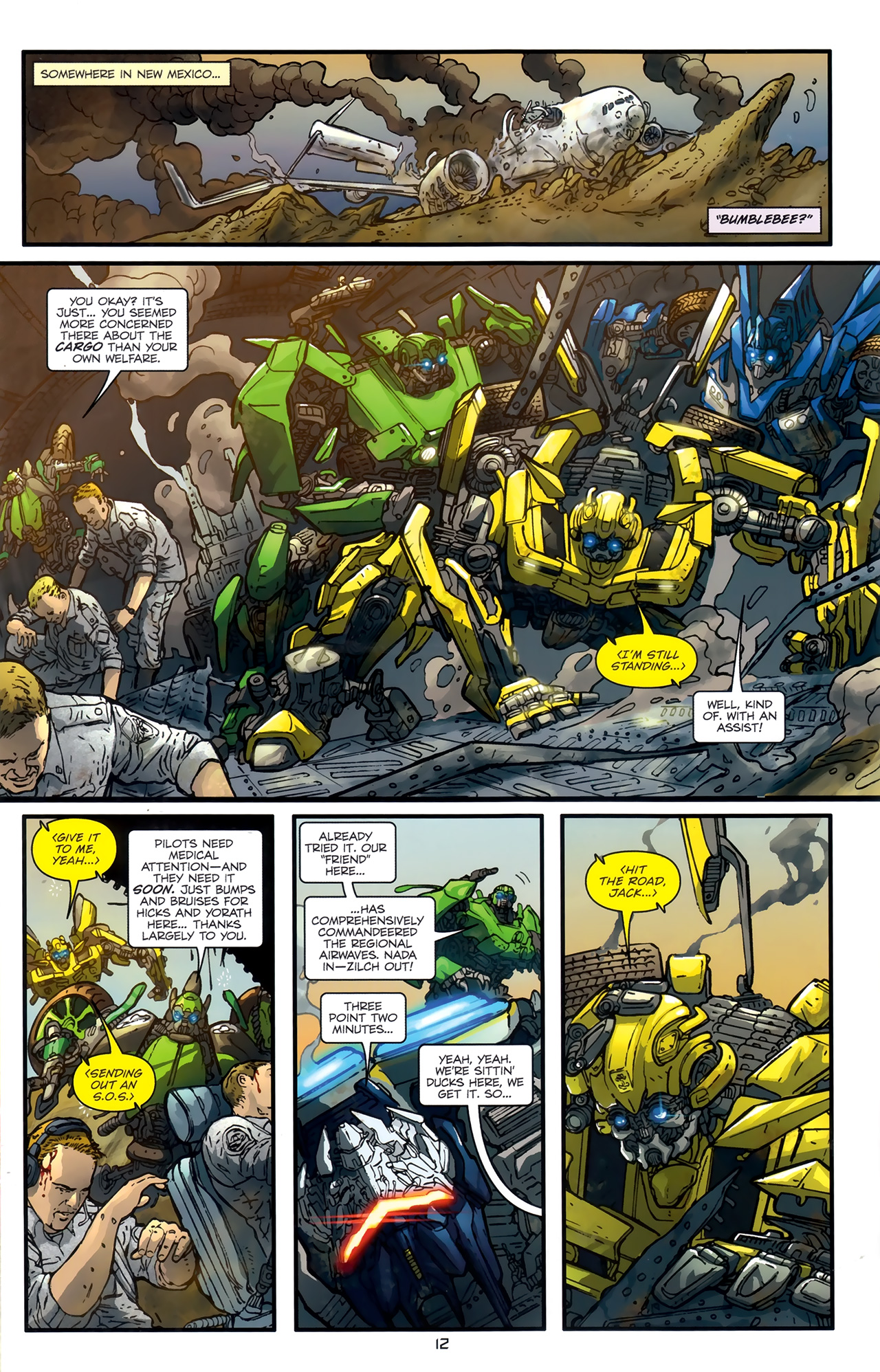 Read online Transformers: Nefarious comic -  Issue #3 - 15