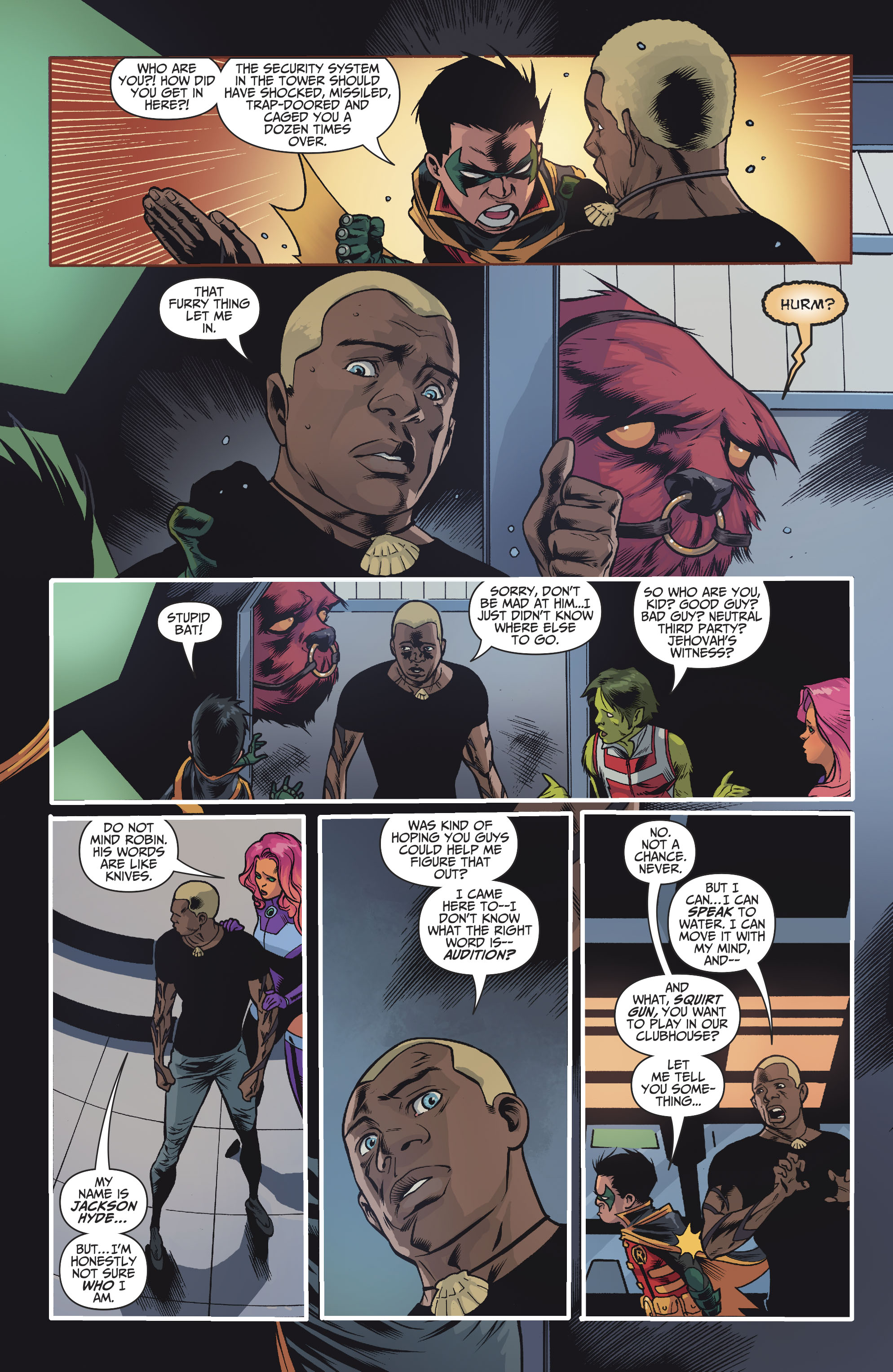 Read online Teen Titans (2016) comic -  Issue #7 - 9