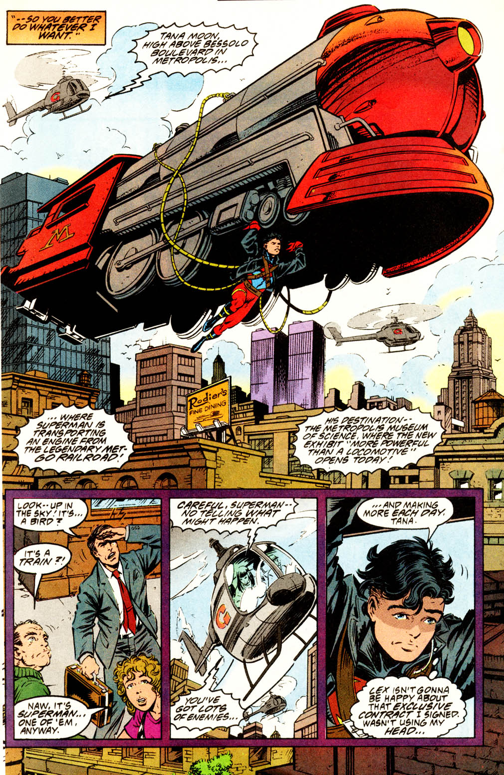 Read online Adventures of Superman (1987) comic -  Issue #502 - 13