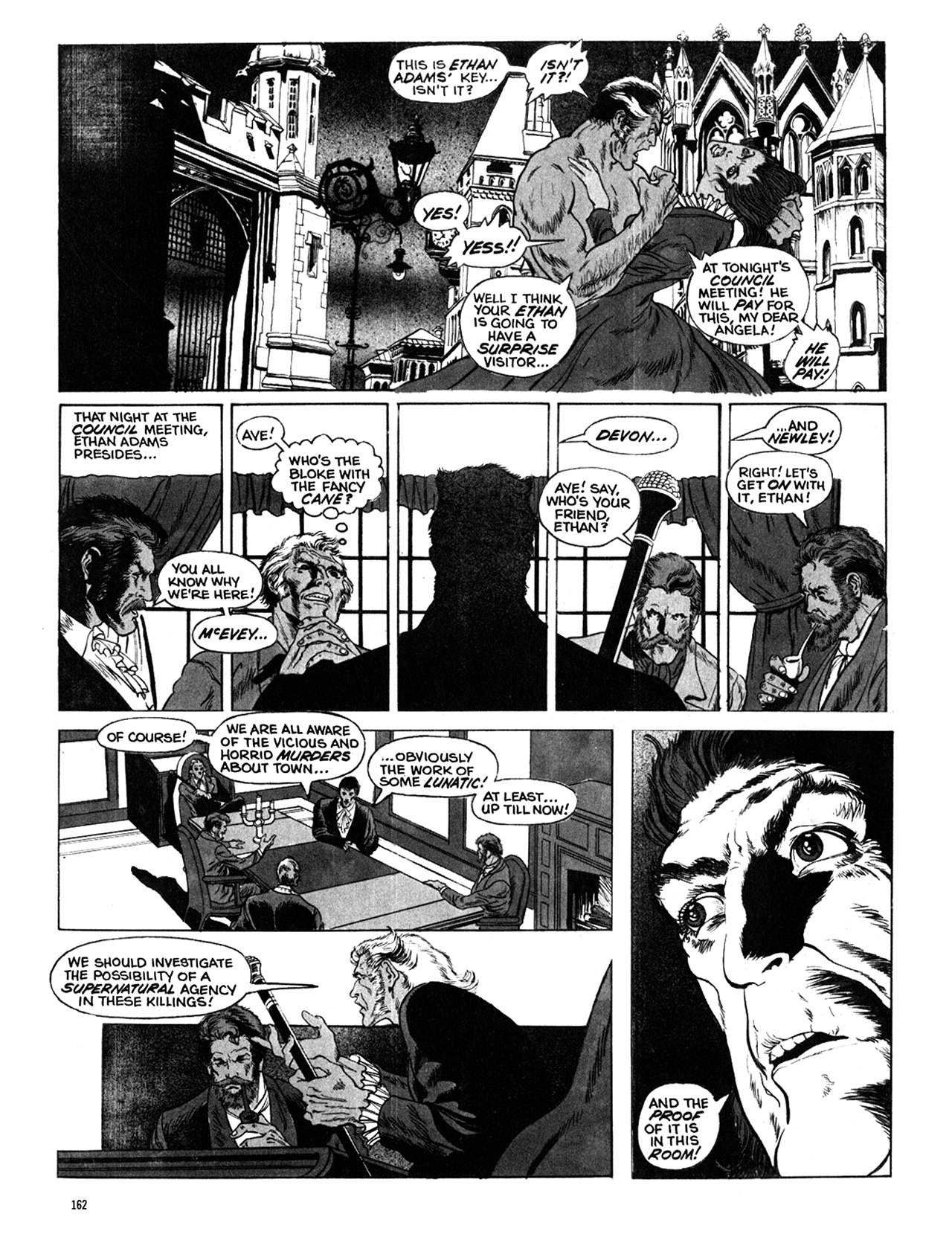Read online Eerie Archives comic -  Issue # TPB 10 - 163