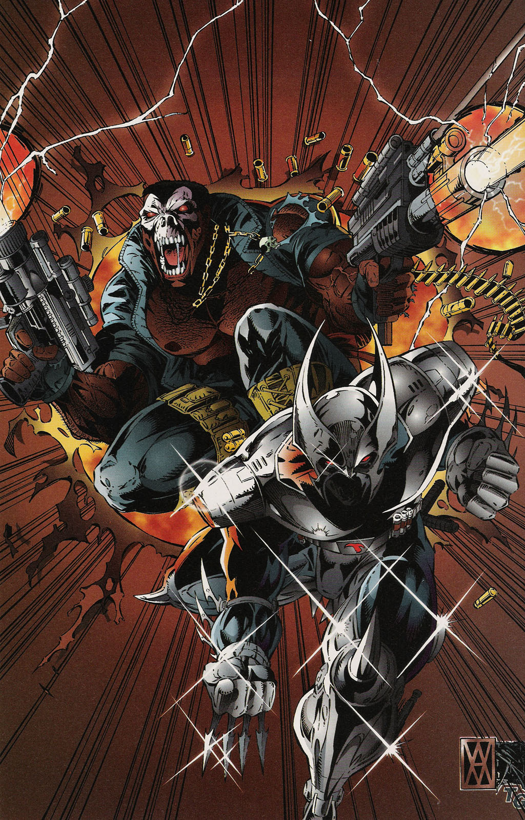 Read online ShadowHawk Gallery comic -  Issue # Full - 27