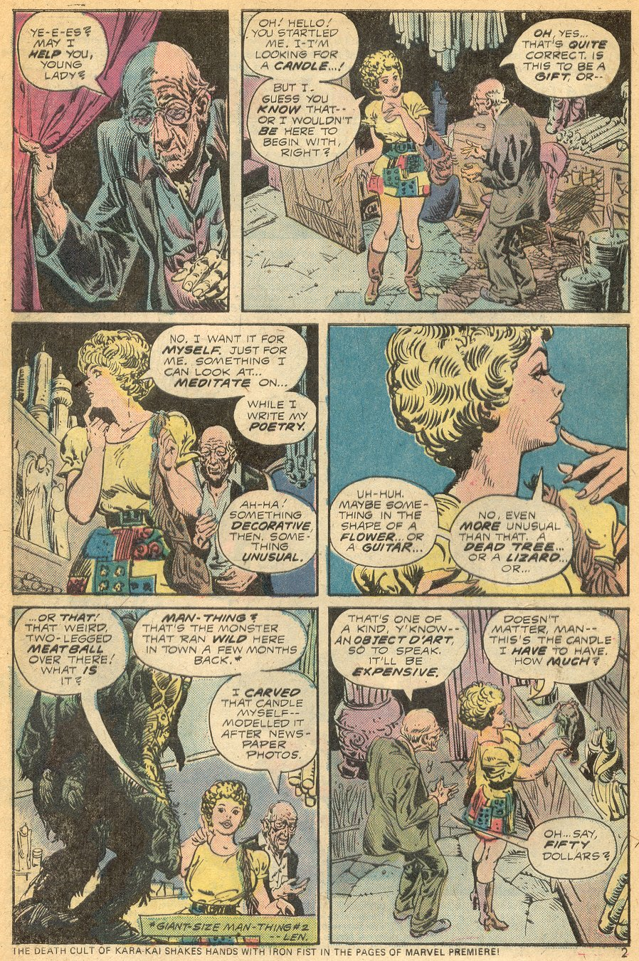 Man-Thing (1974) issue 15 - Page 3