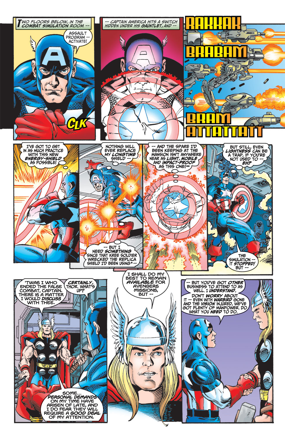 Read online Avengers (1998) comic -  Issue #8 - 6