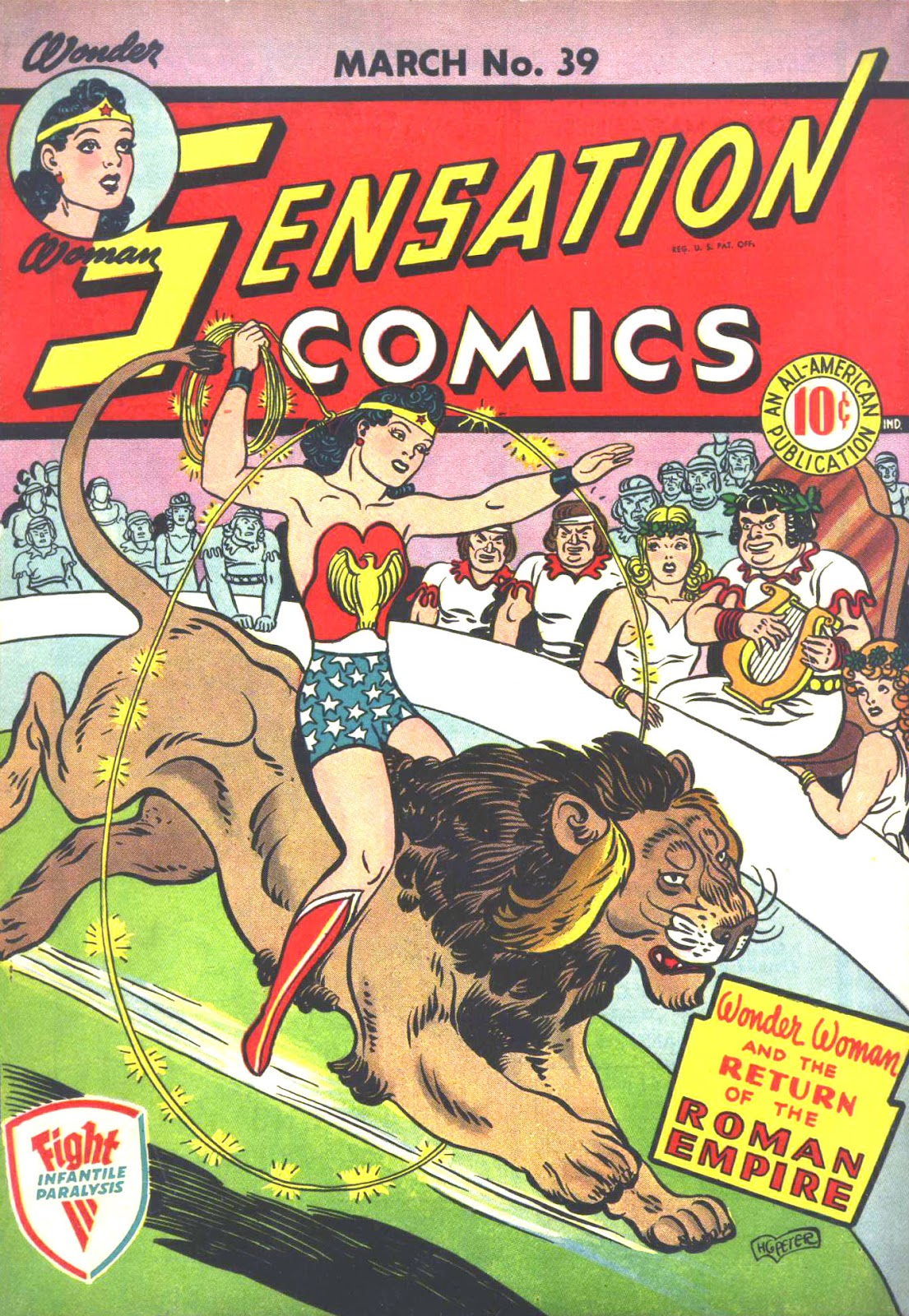 Sensation (Mystery) Comics 39 Page 1