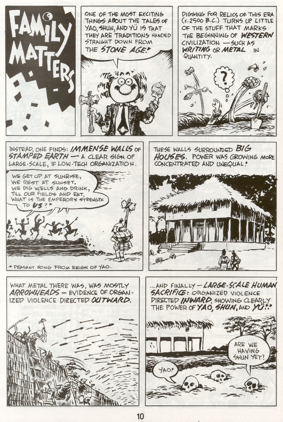 Read online The Cartoon History of the Universe comic -  Issue #9 - 13