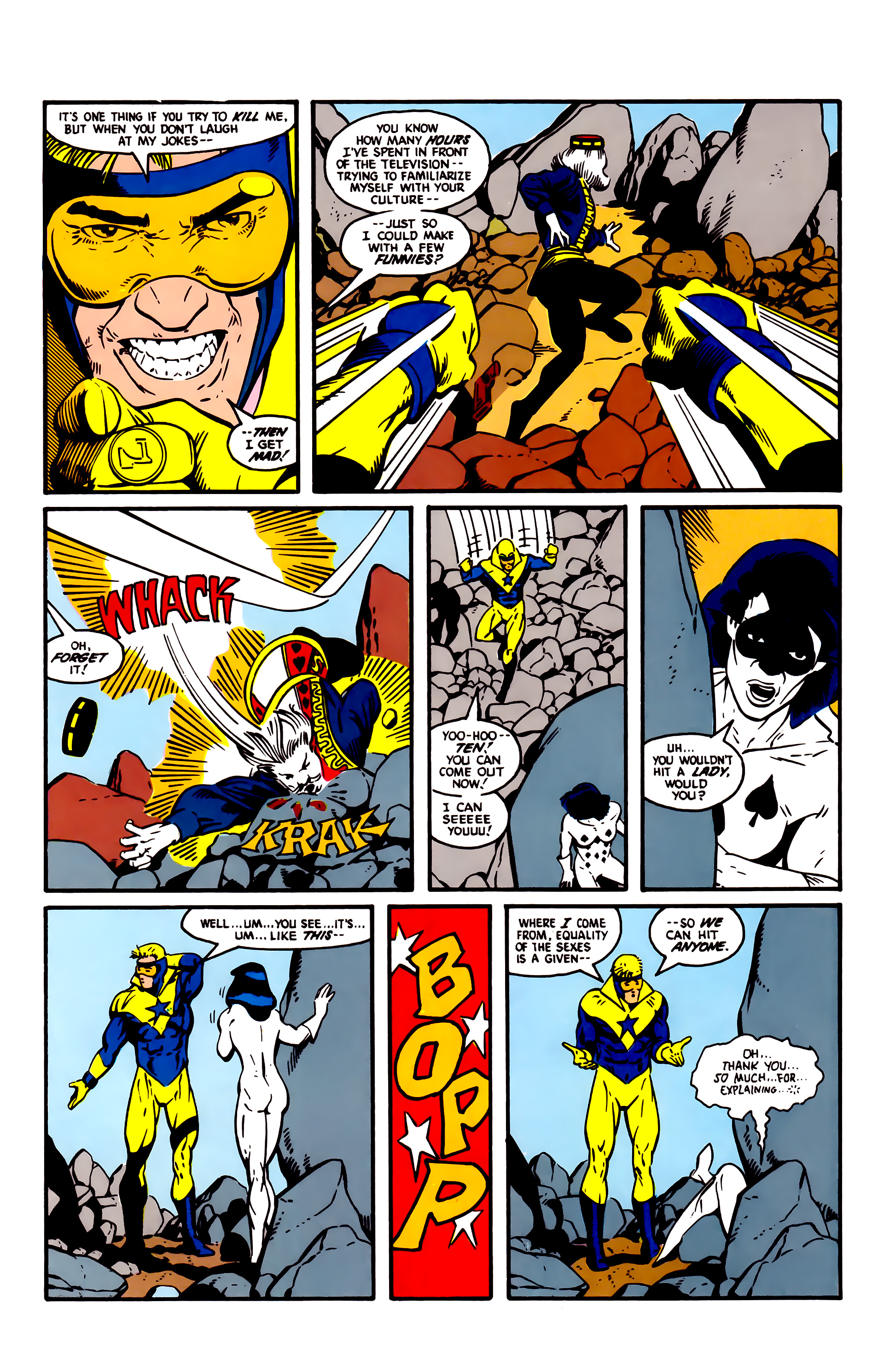Read online Justice League (1987) comic -  Issue #4 - 14