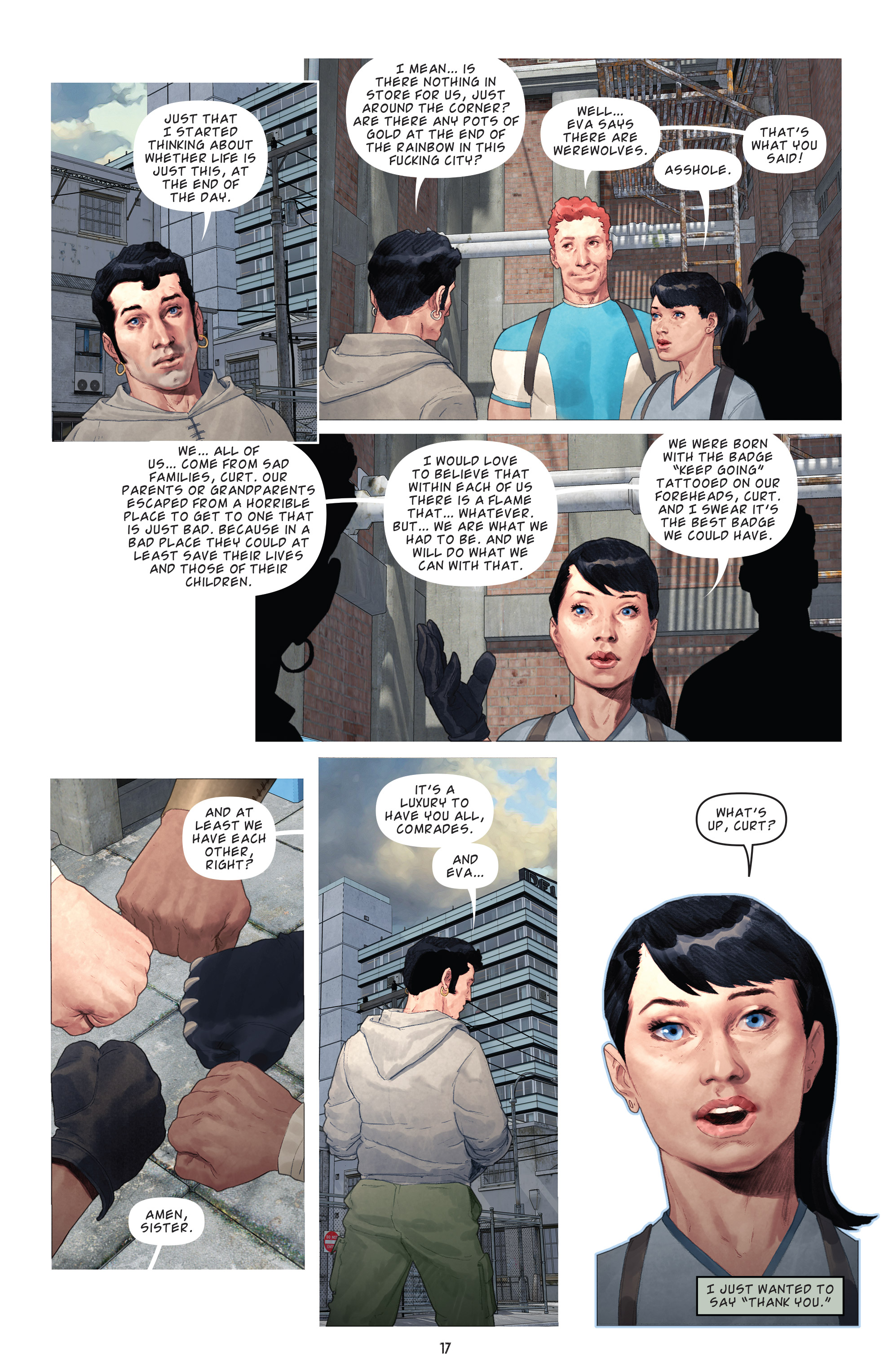 Read online Brutal Nature: Concrete Fury comic -  Issue #4 - 19