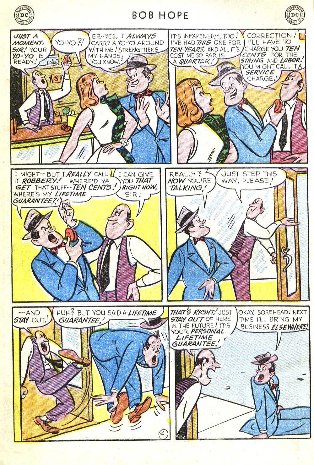 The Adventures of Bob Hope issue 30 - Page 6