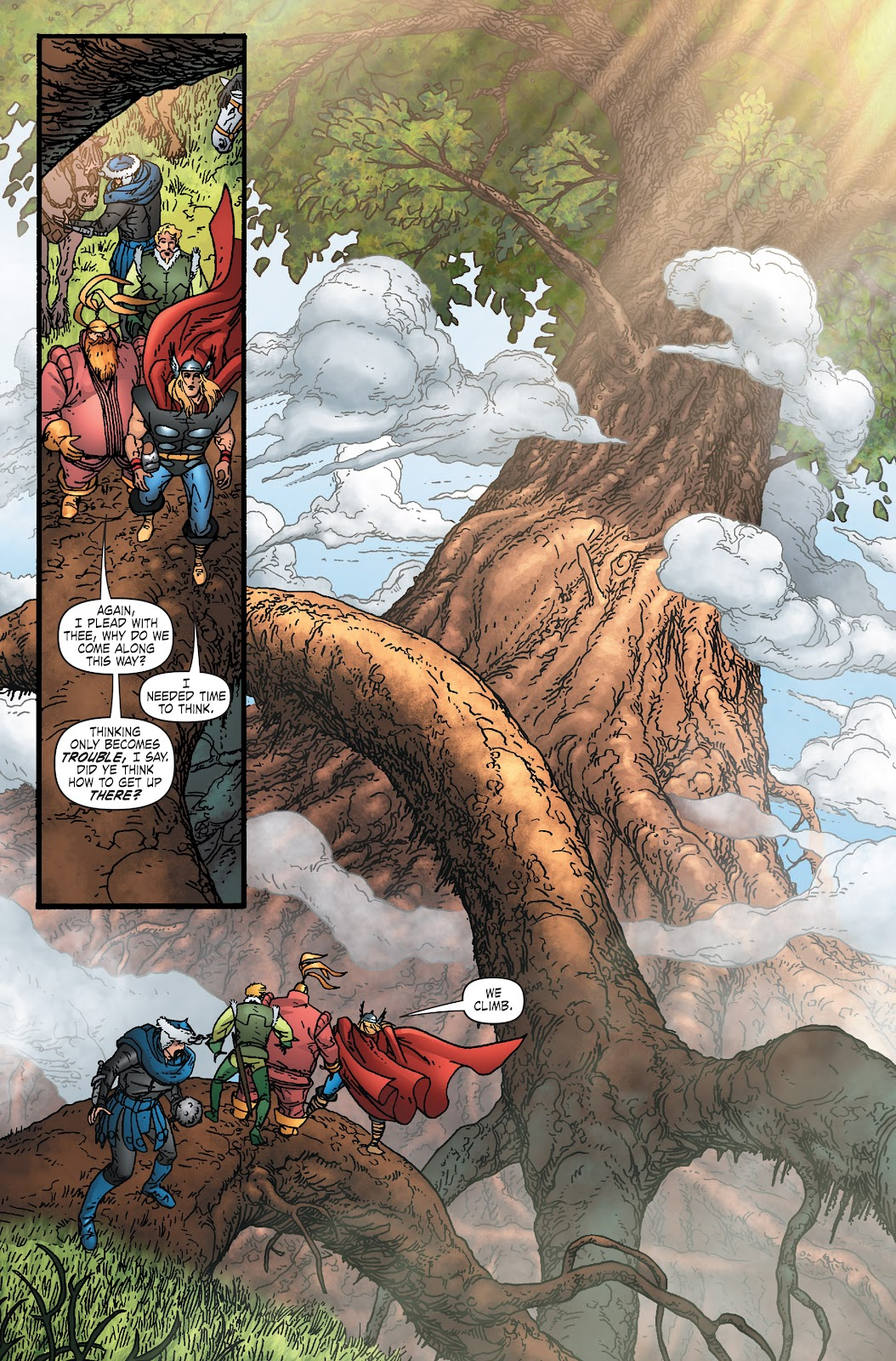 Read online Thor: Ragnaroks comic -  Issue # TPB (Part 1) - 32