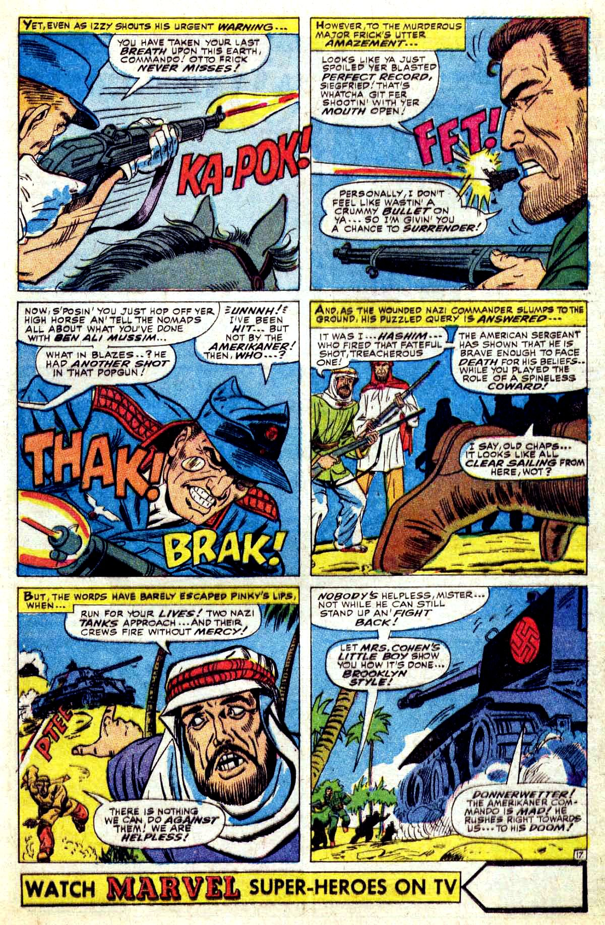 Read online Sgt. Fury comic -  Issue #37 - 25