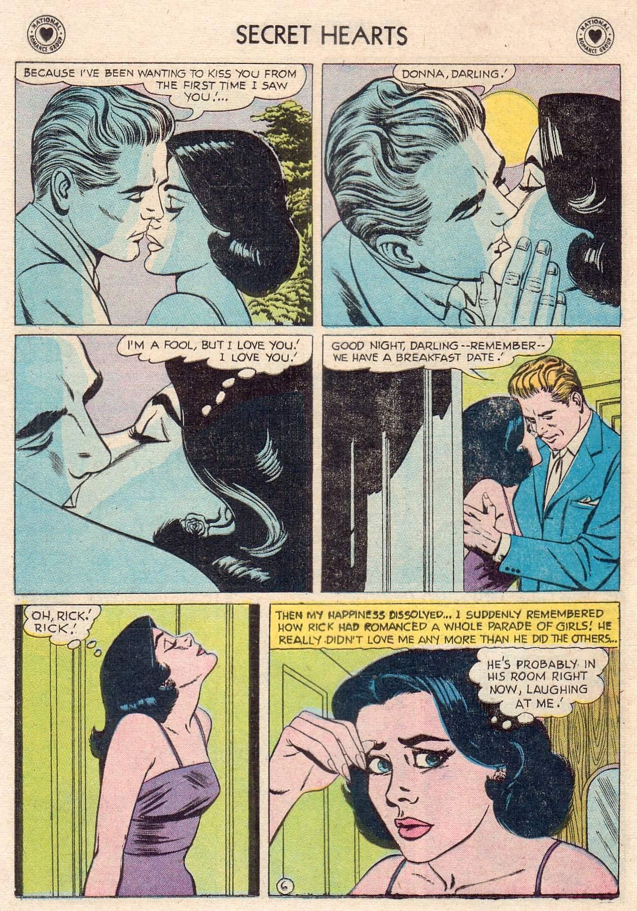 Read online Secret Hearts comic -  Issue #46 - 24